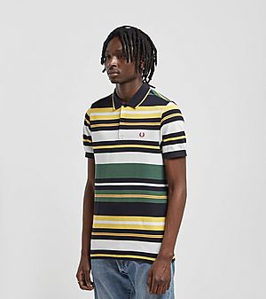 ede49fcdc ... Fred Perry Bold Stripe Short Sleeve Polo Shirt