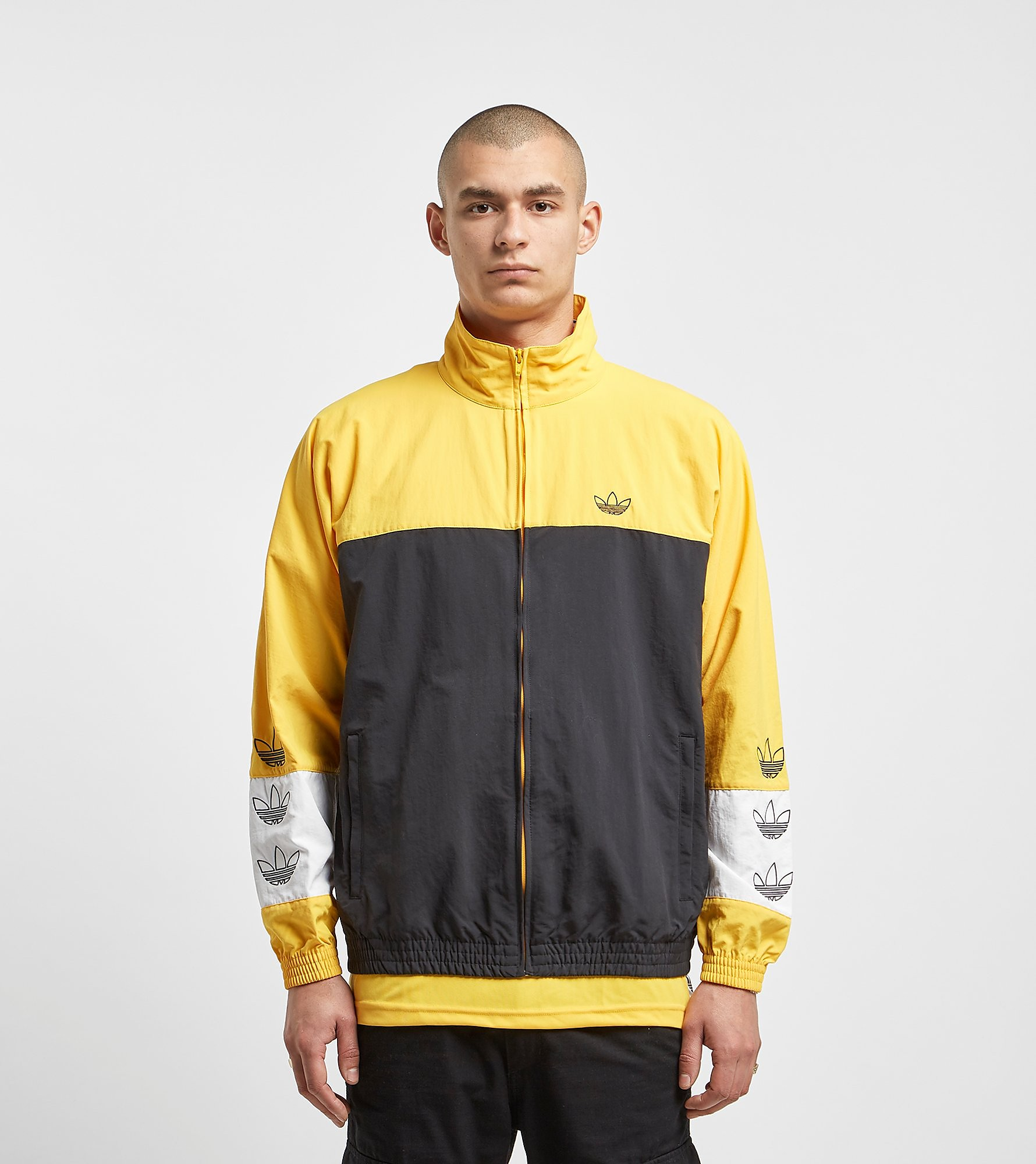 adidas Originals Warm-Up Lightweight Jacket, Nero