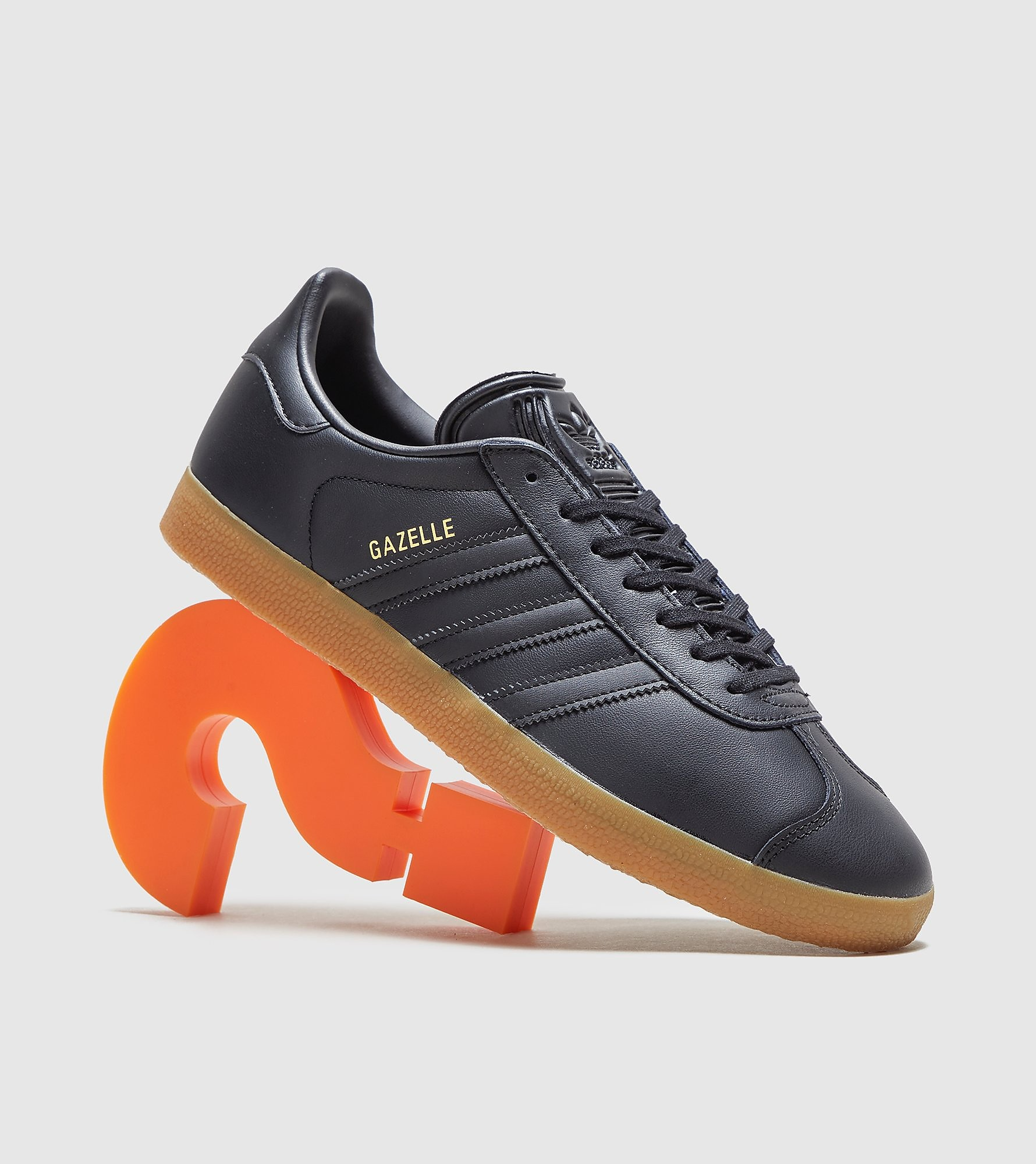 the latest 0ff85 0118f adidas Originals Gazelle, Black
