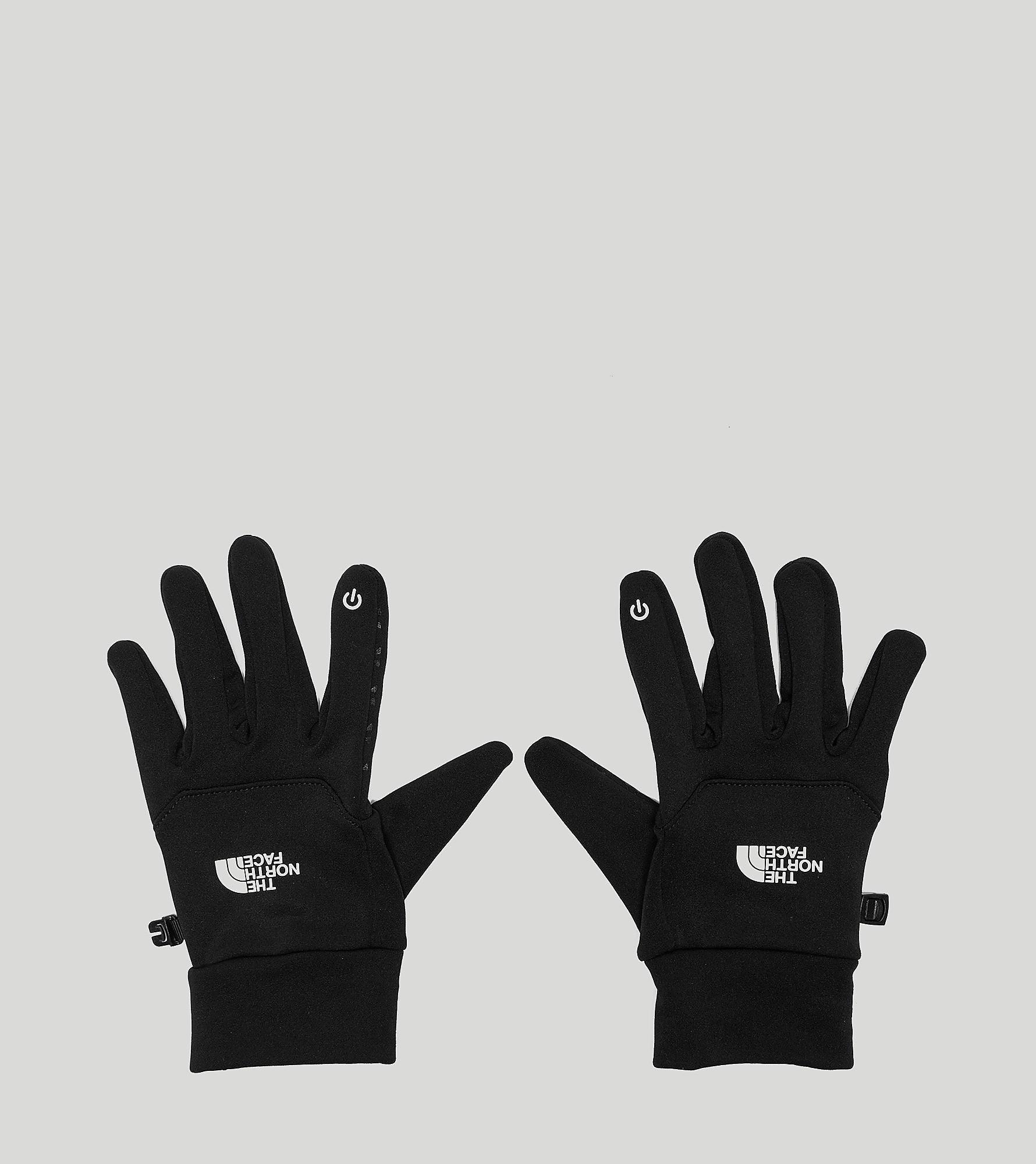 The North Face E-Tip Gloves, Zwart