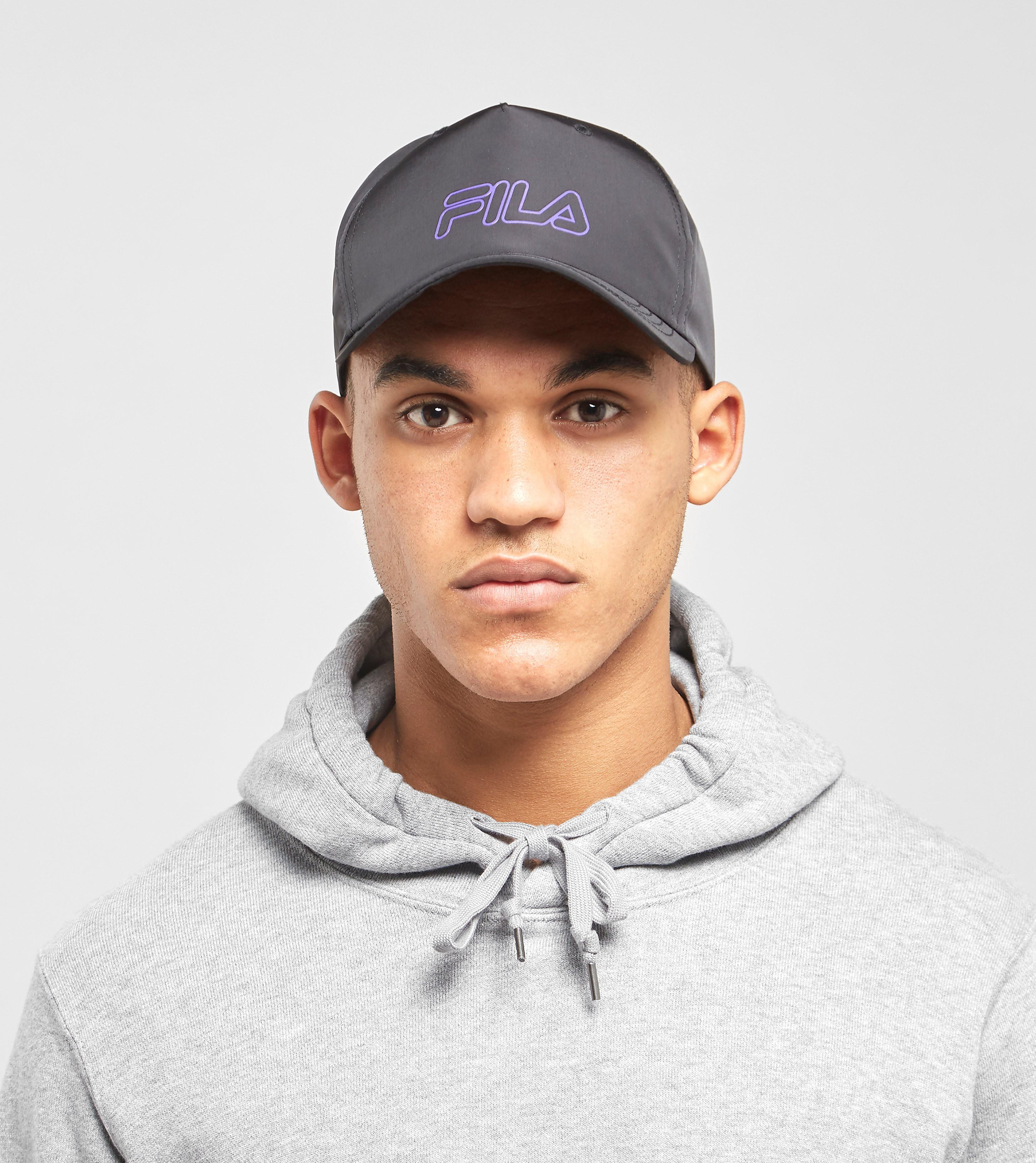 Fila Capo Baseball Cap - size? Exclusive, Zwart