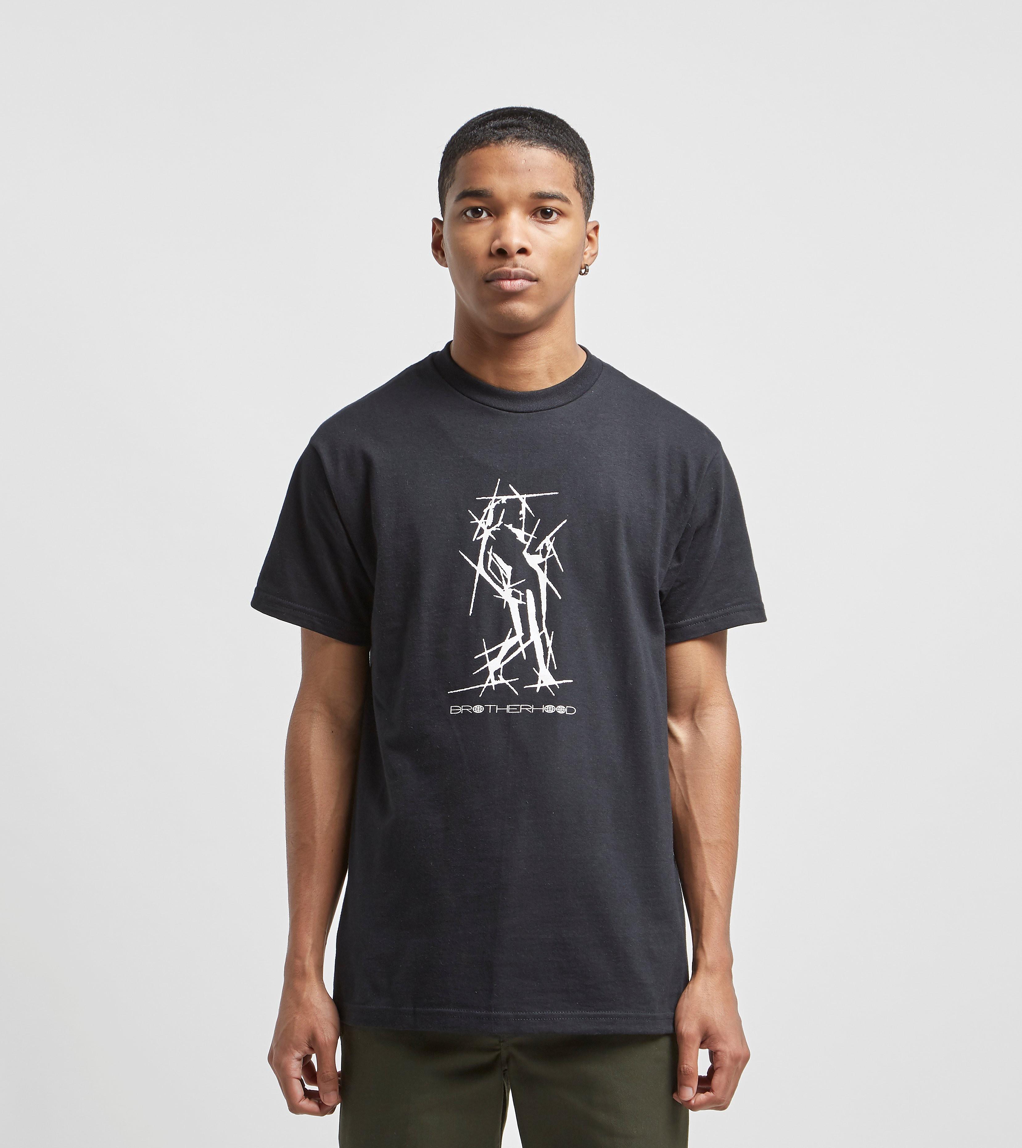 Brotherhood T-Shirt Punkture, Noir