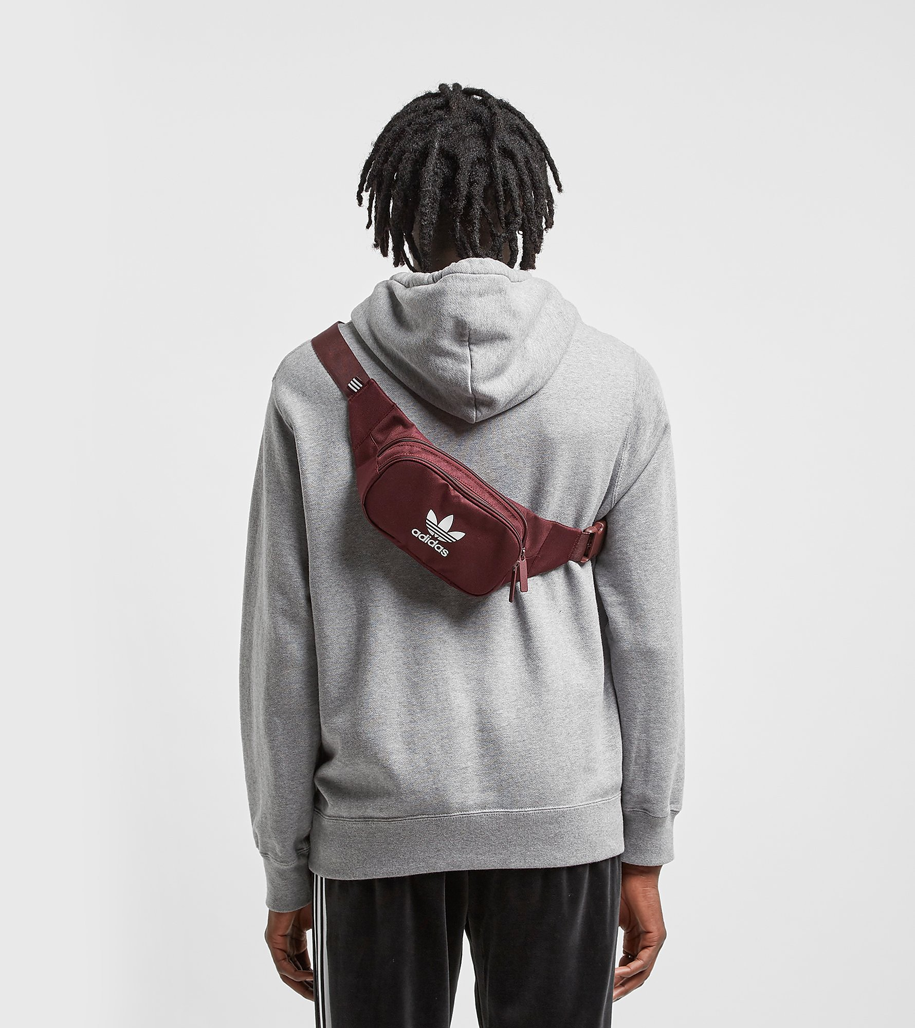 adidas Originals Trefoil Waist Bag, Rood