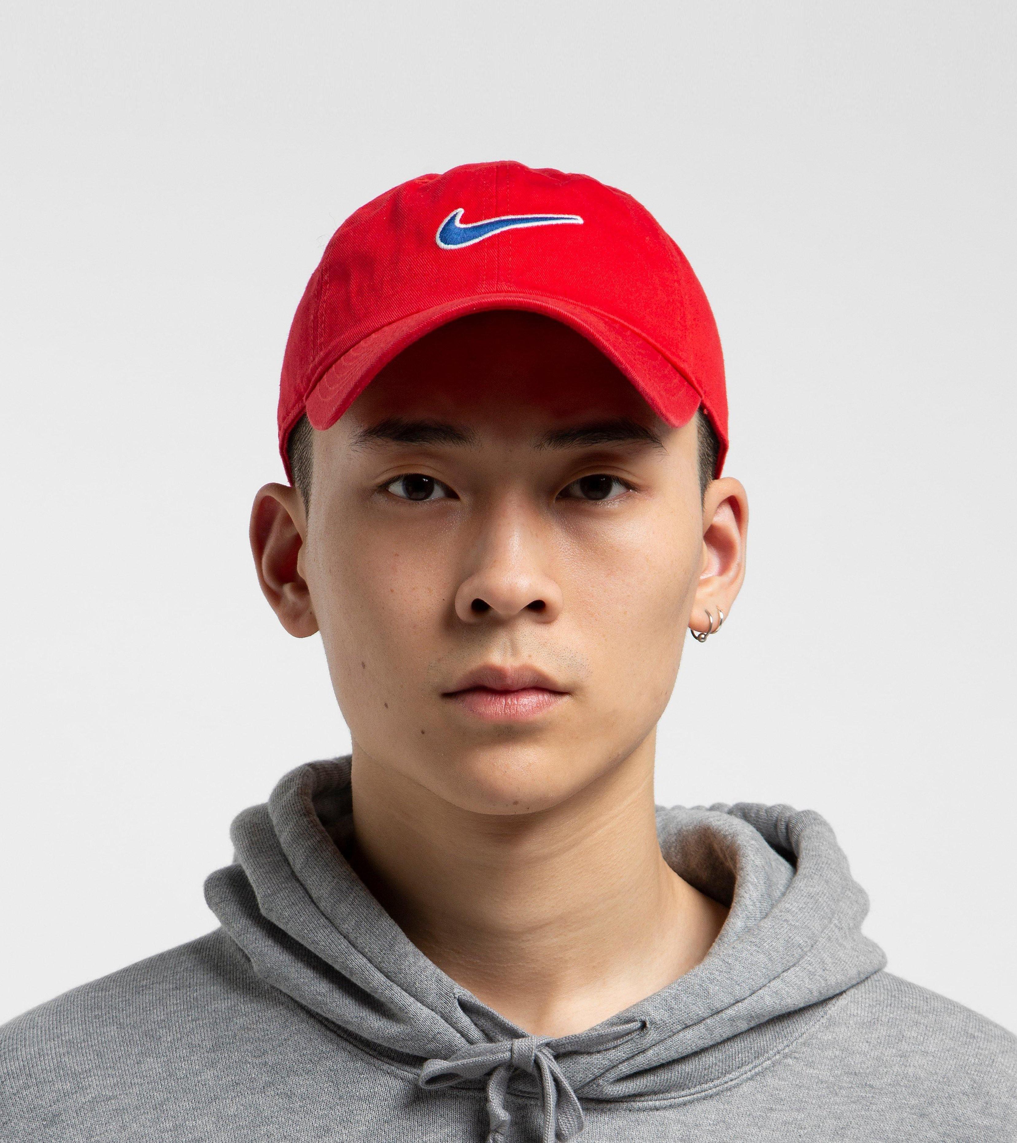 Nike H86 Swoosh Cap, Rood