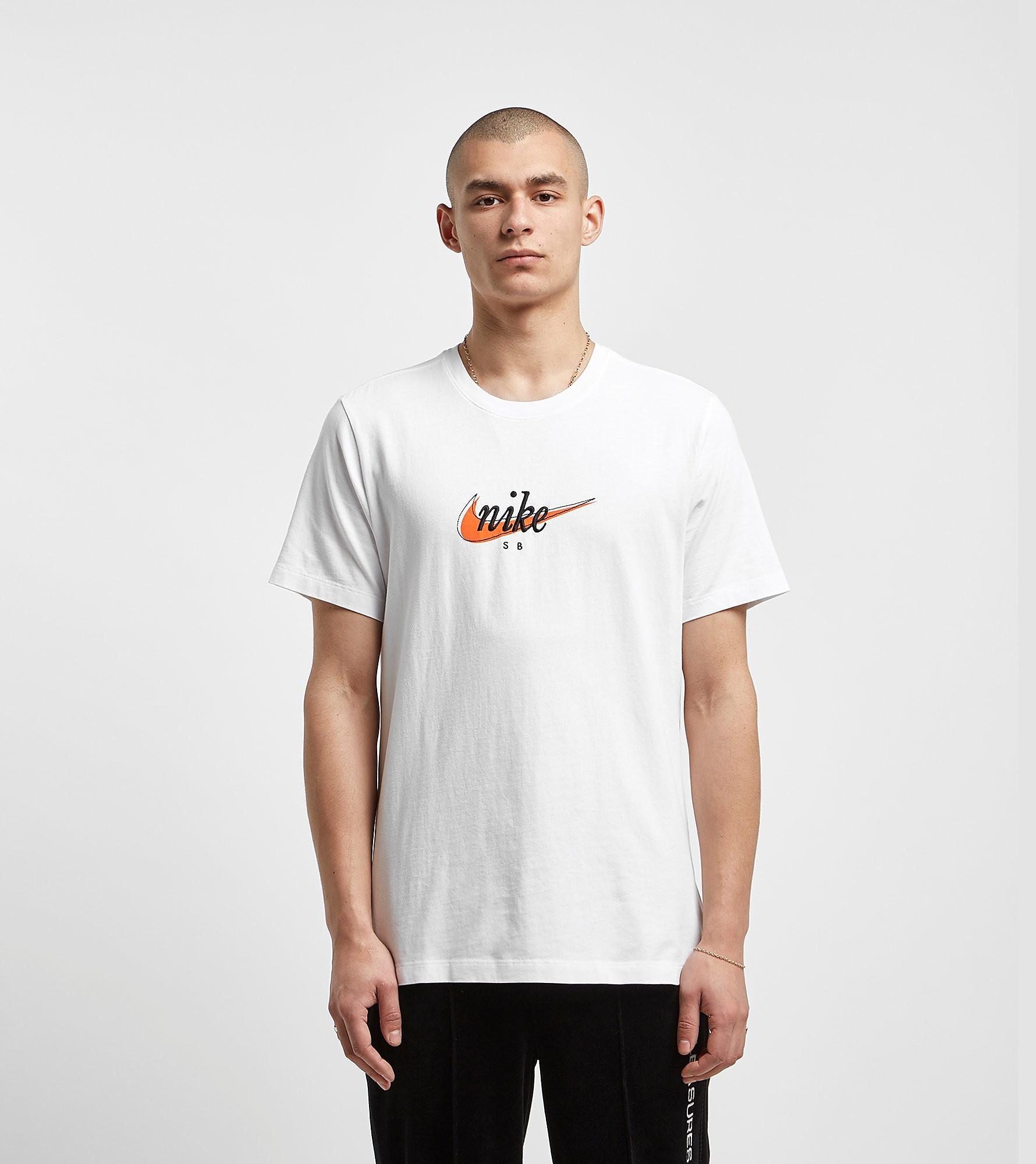 Nike SB Swoosh T-Shirt, Wit