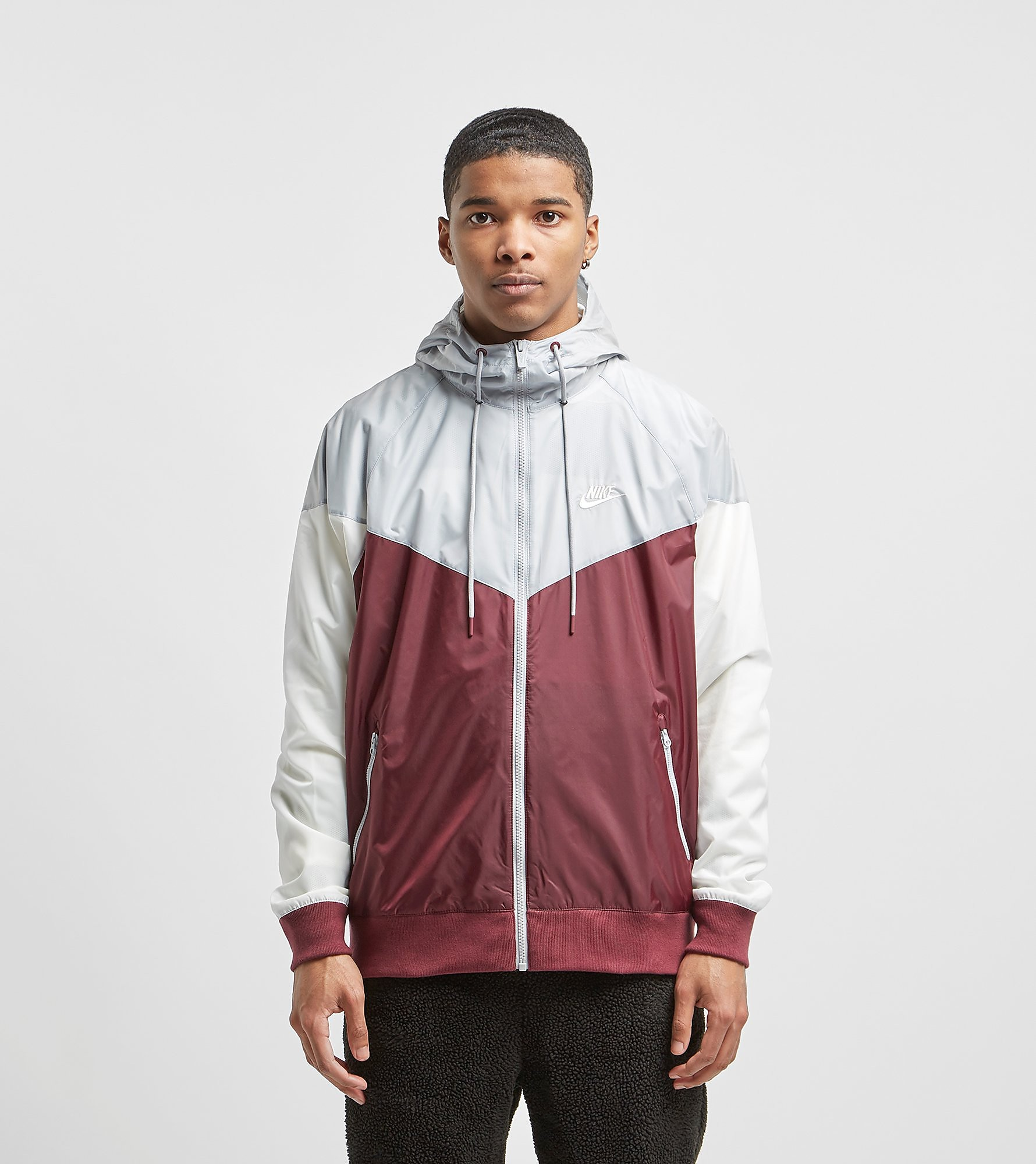 Nike Windrunner Lightweight Jacket, Rosso
