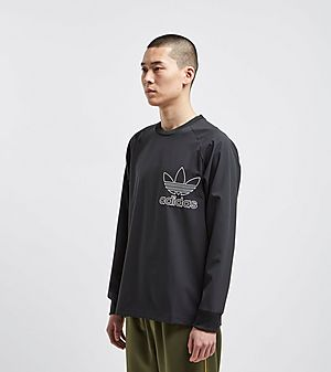 1fdbbb9c634f0 adidas Originals Outline Crew Sweatshirt adidas Originals Outline Crew  Sweatshirt