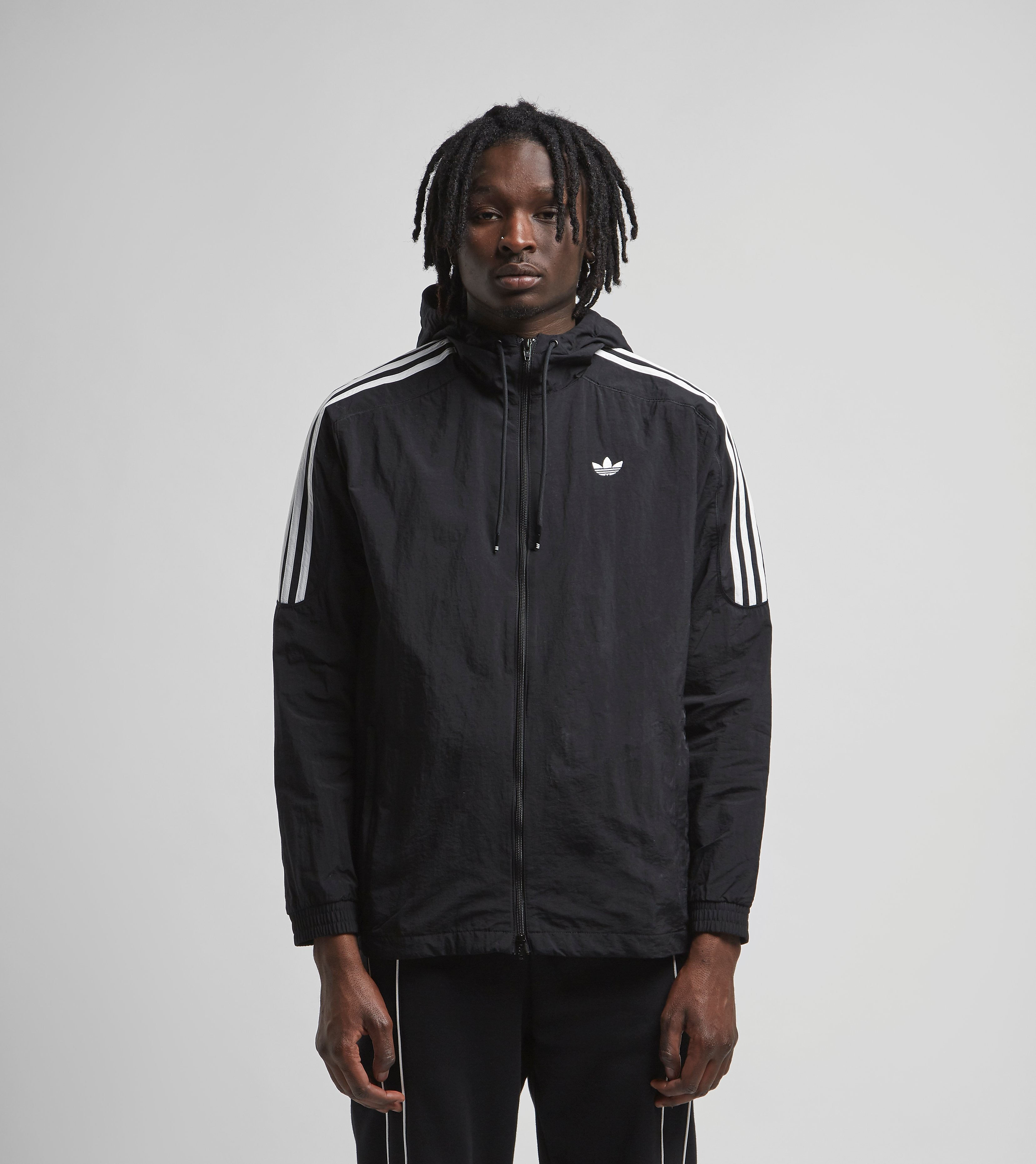 adidas Originals Radkin Windbreaker Jacket, Nero