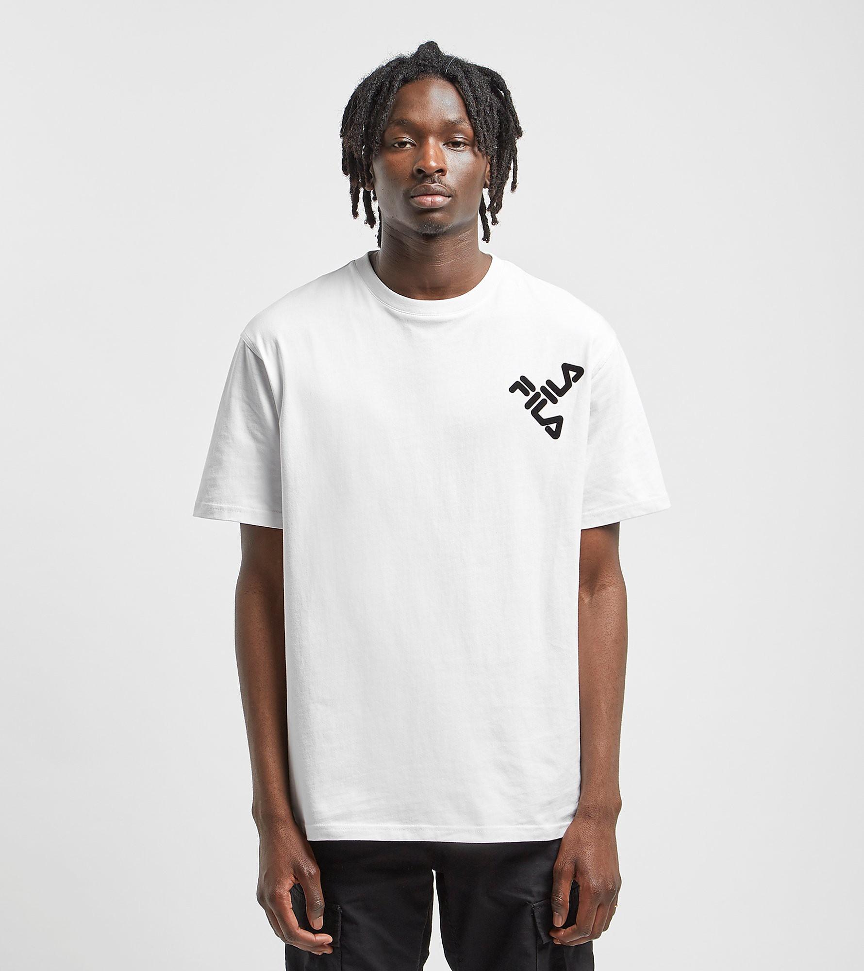 Fila Diagonal T-Shirt - size? Exclusive, Wit
