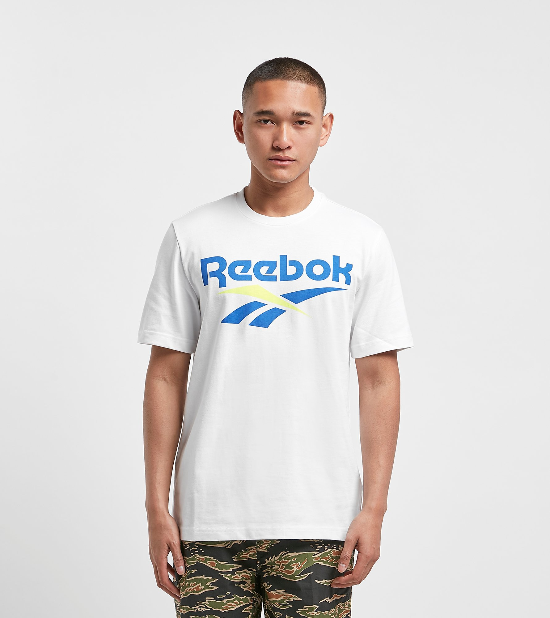 Reebok Logo Vector White/Blue