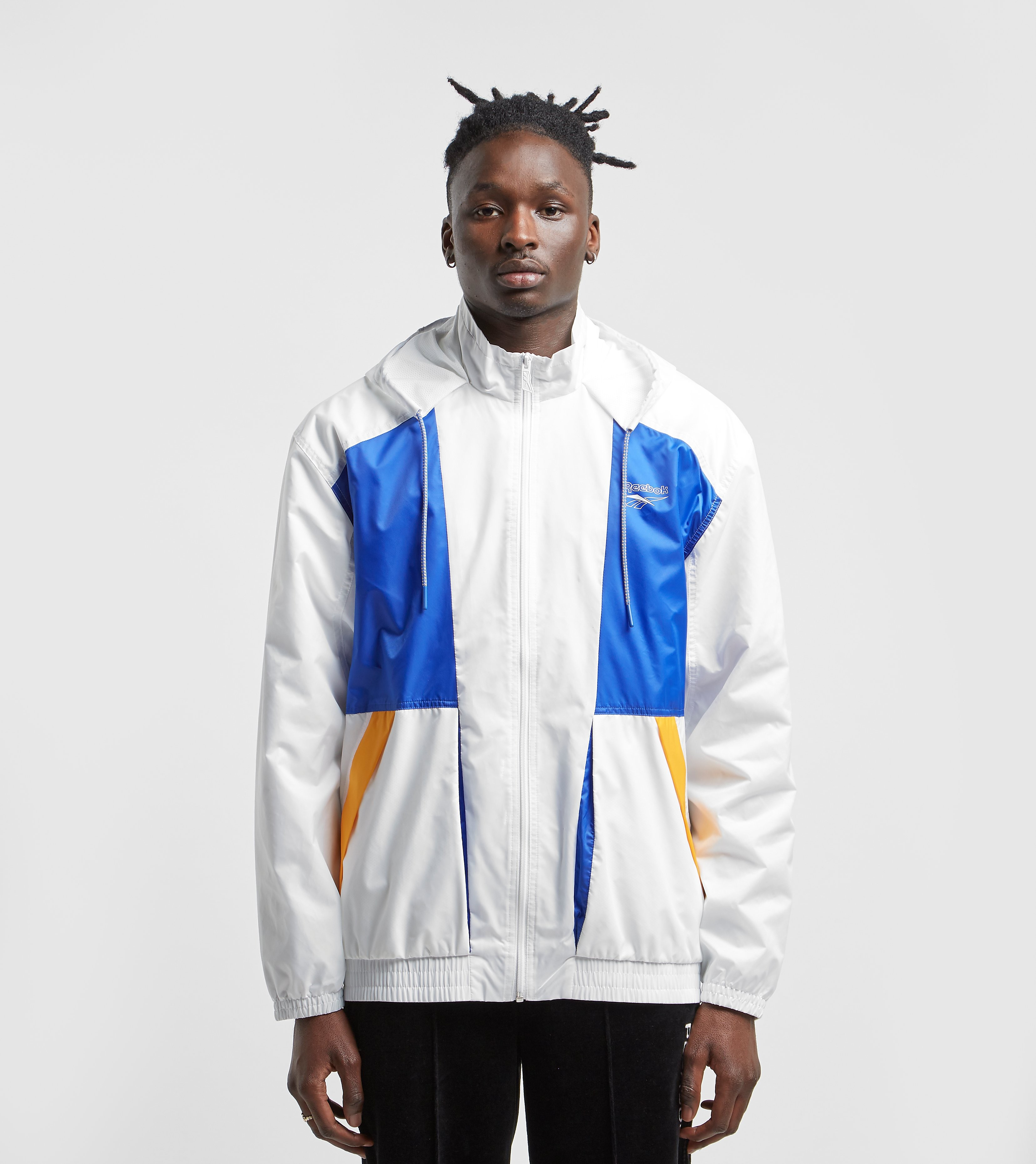 Reebok Vector Windbreaker, Bianco