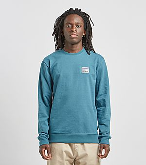 70fb93a308653 Patagonia Shop Sticker Crewneck Sweatshirt ...