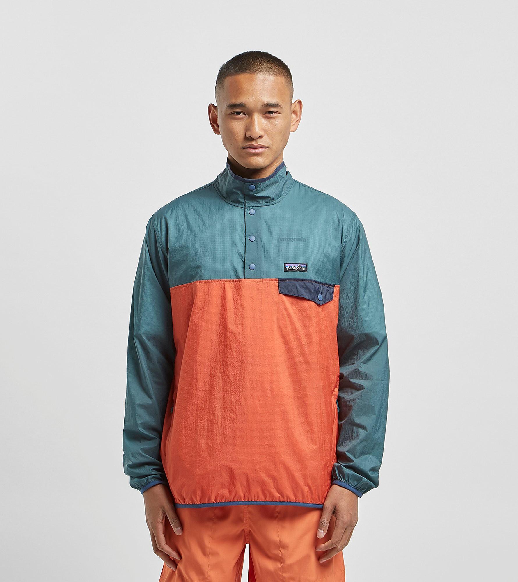 Patagonia Houdini Snap Pullover Jacket, Arancio