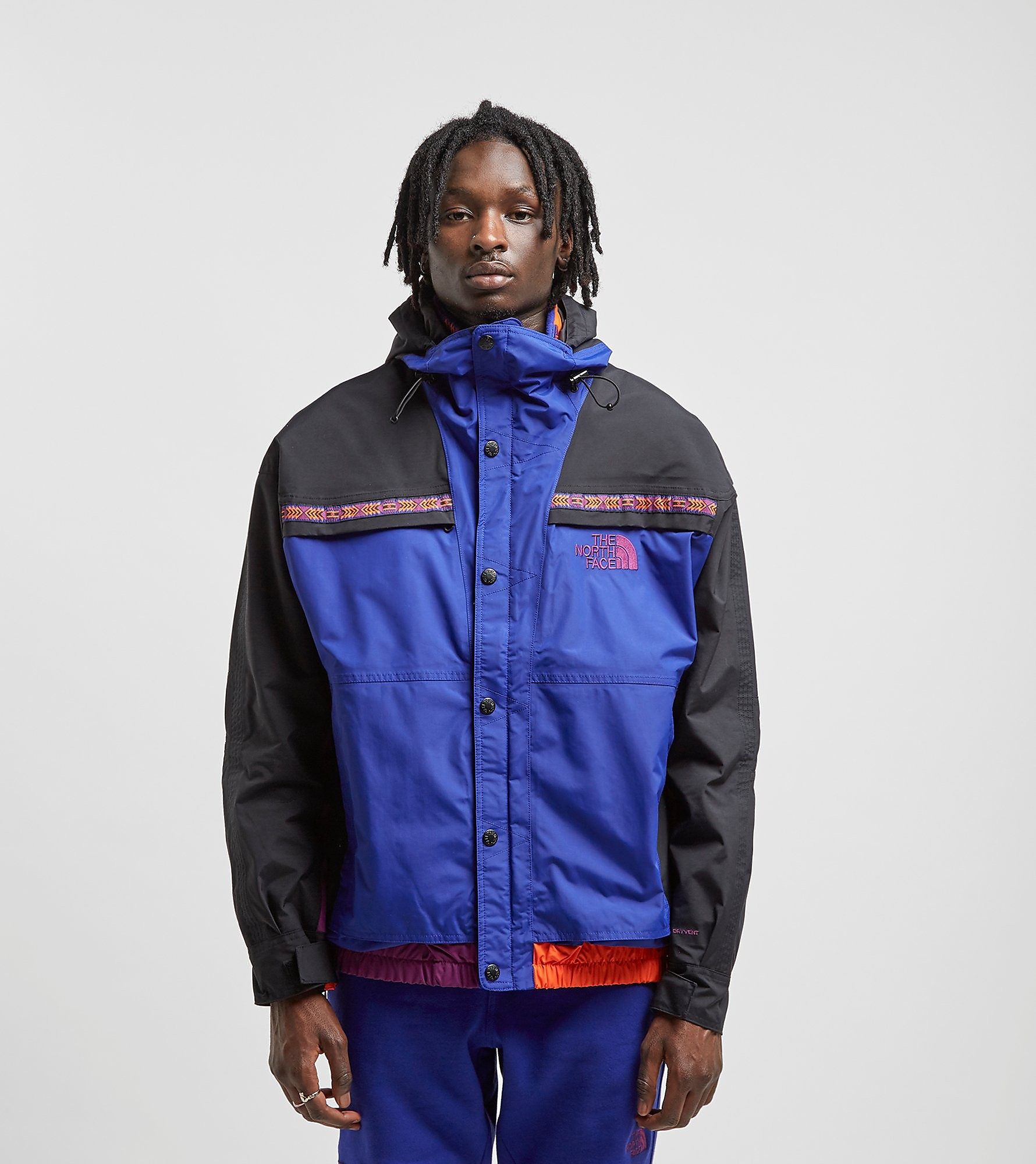 The North Face Rage '92 Retro Rain Jacket, Celeste