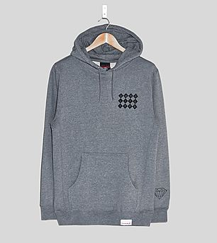 Diamond Supply Checkers Pullover Hoody
