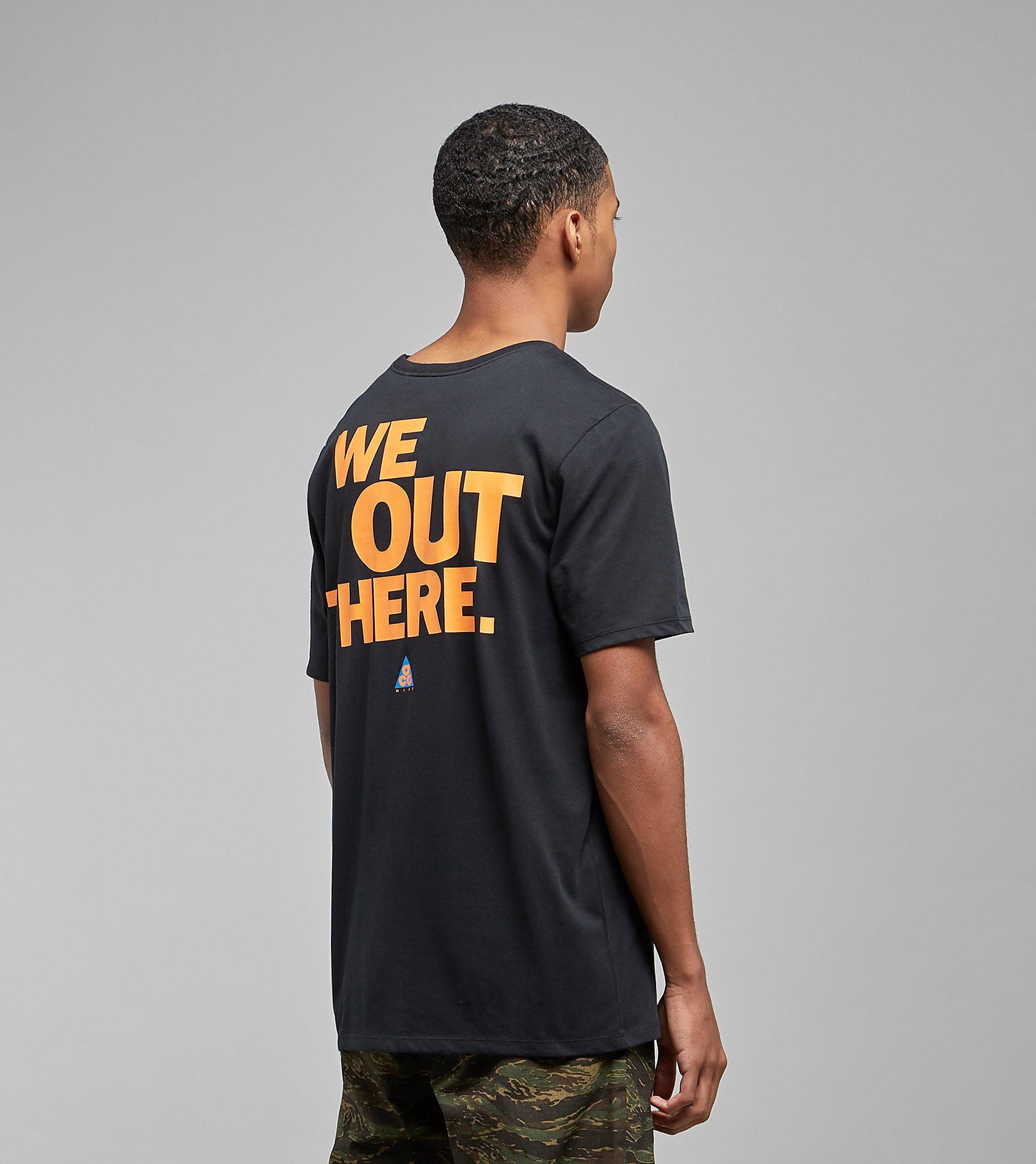 Nike ACG T-shirt, Zwart