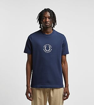 18056f13eb3 Fred Perry Branded Short Sleeve T-Shirt ...
