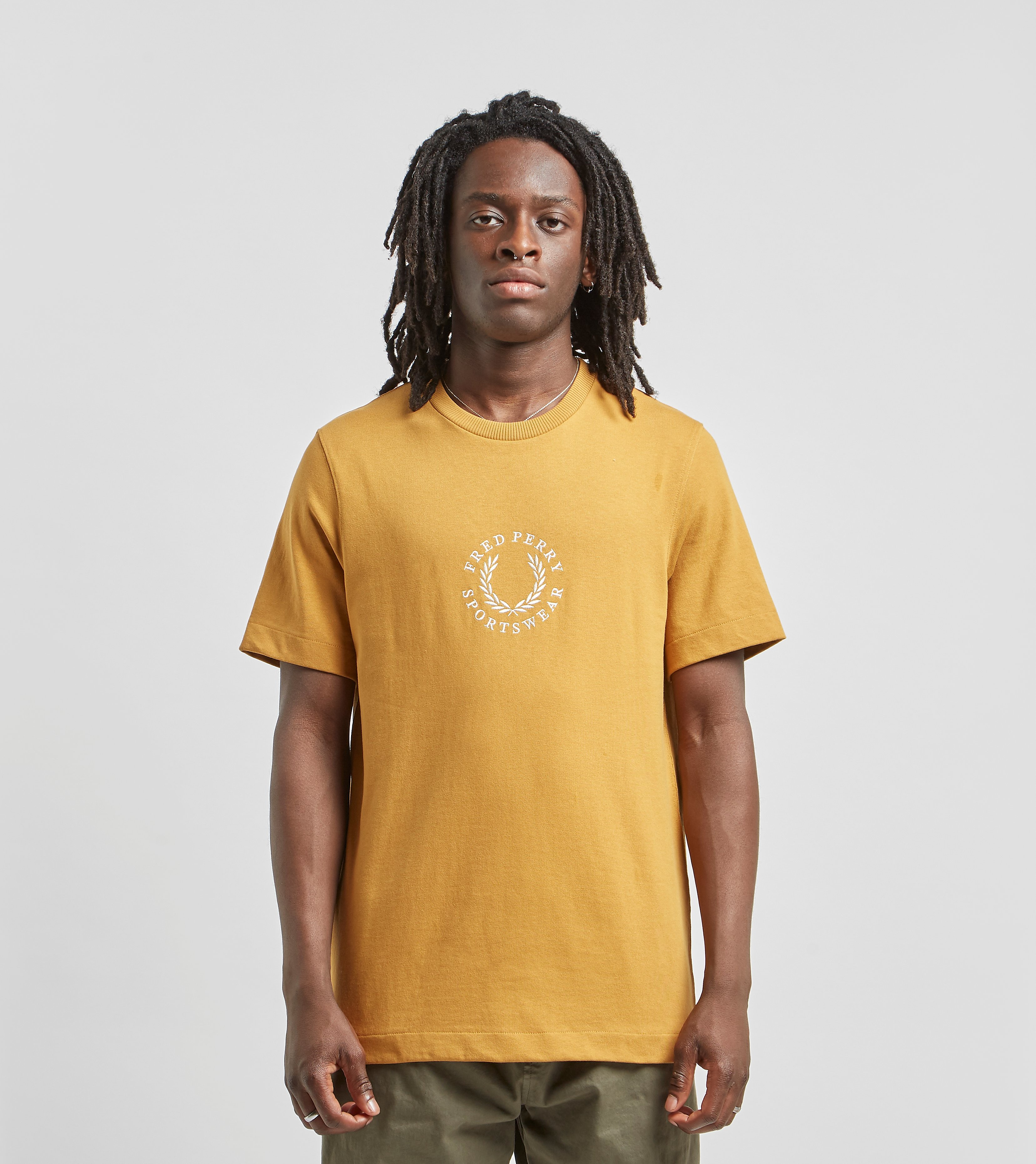 Fred Perry Center Logo Sportwear Yellow