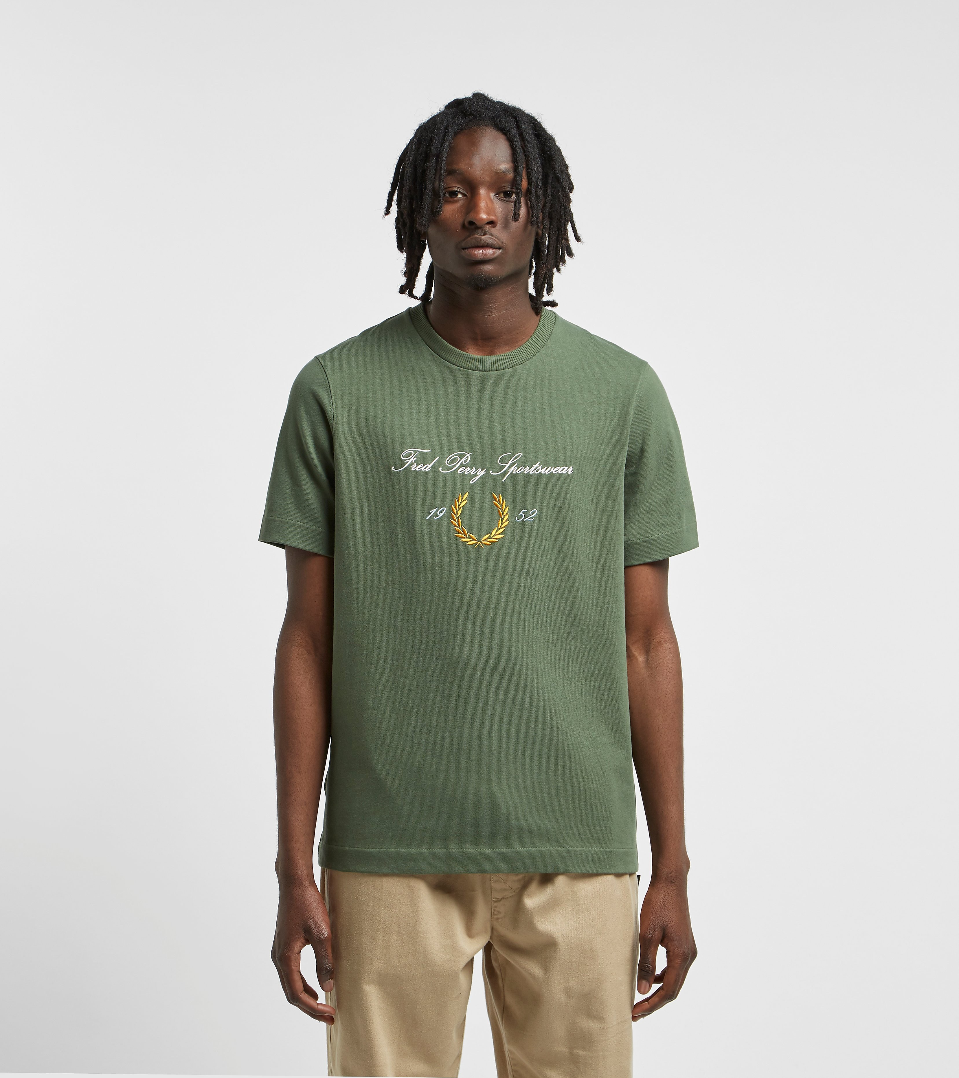 Fred Perry Archive Branded T-Shirt