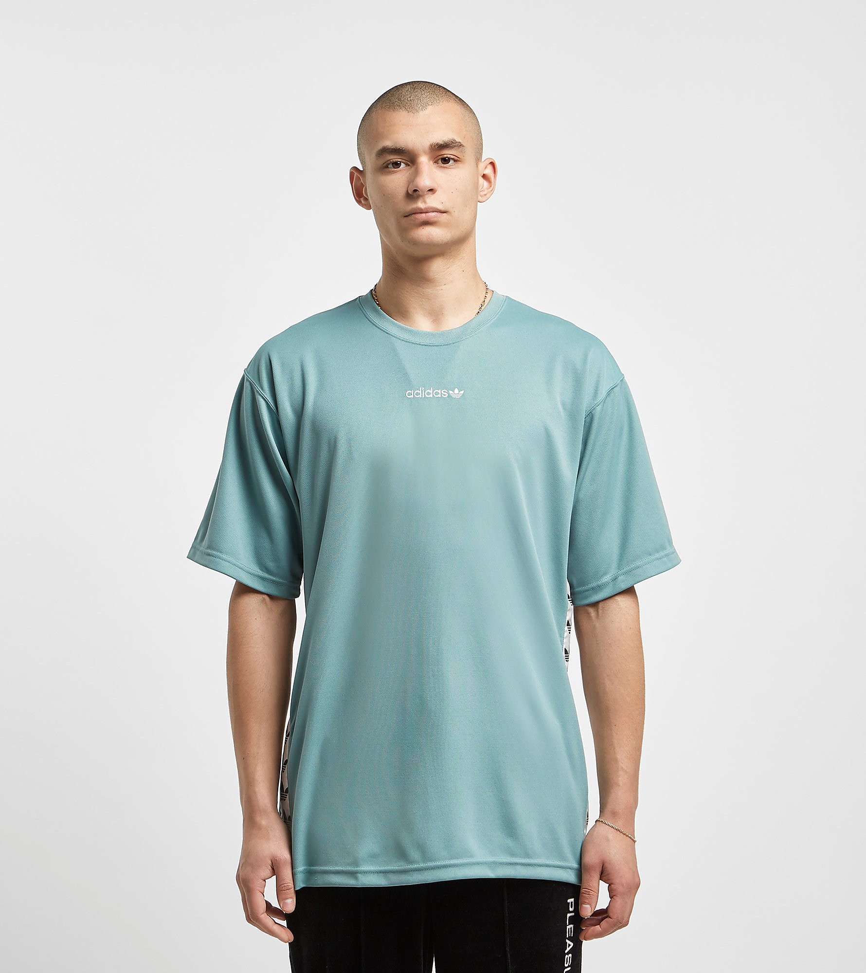 adidas Originals TNT Tape T-Shirt - size? Exclusive, Grijs