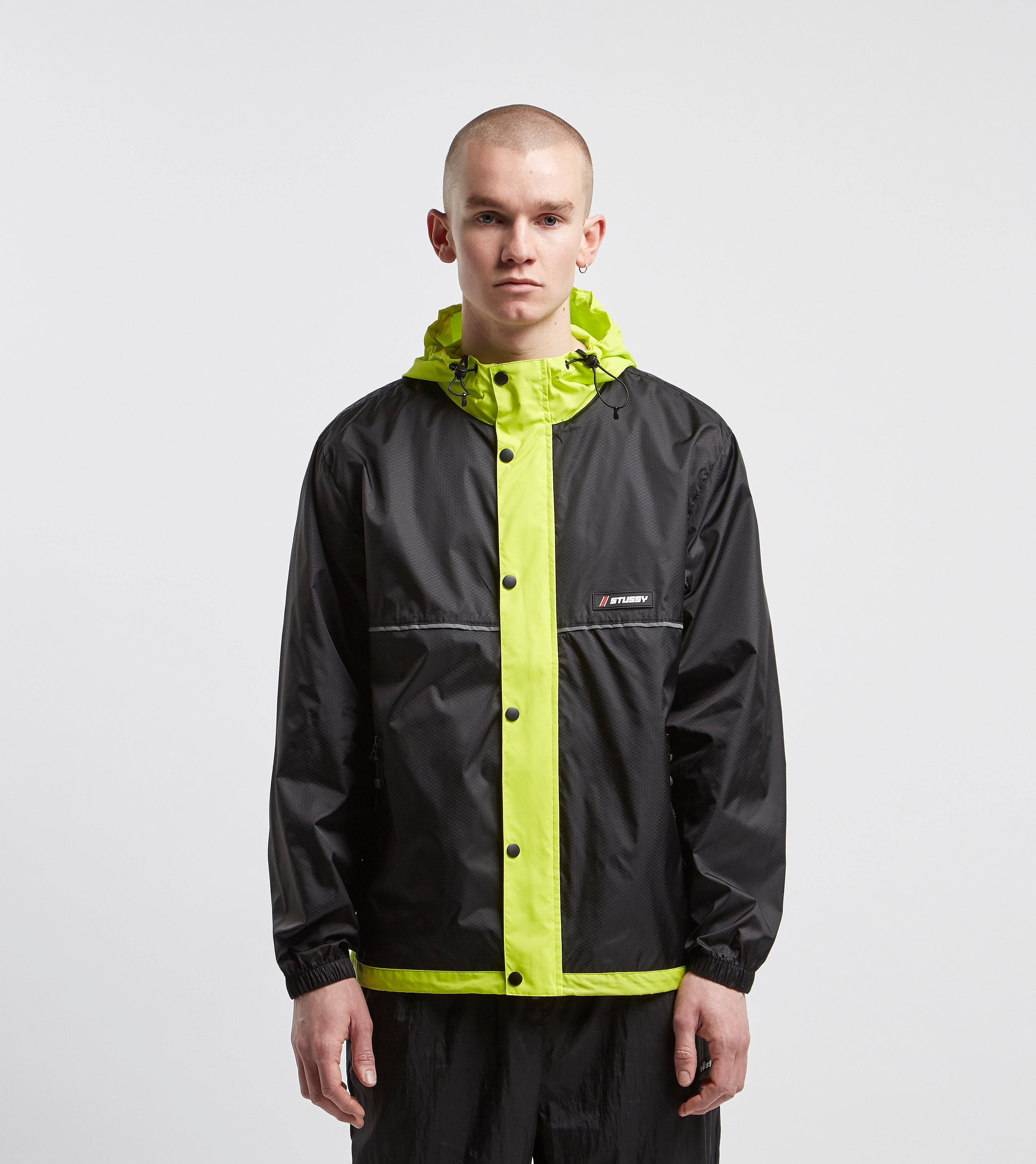 Stussy Honeycomb Jacket, Nero