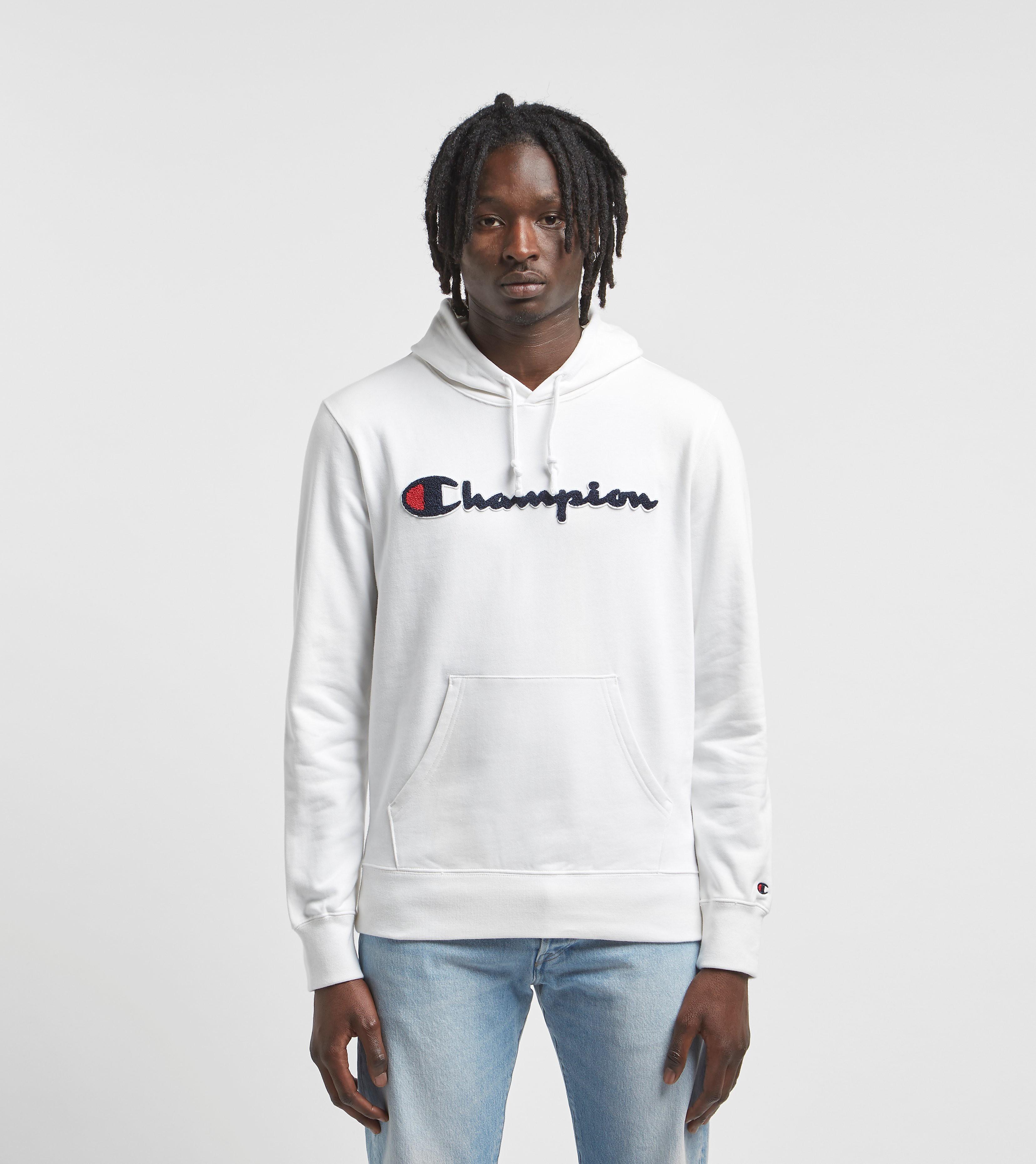 Champion Script Logo Reverse Weave Overhead Hoodie