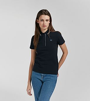 Fred Perry Oxford Trim Pique Polo Shirt