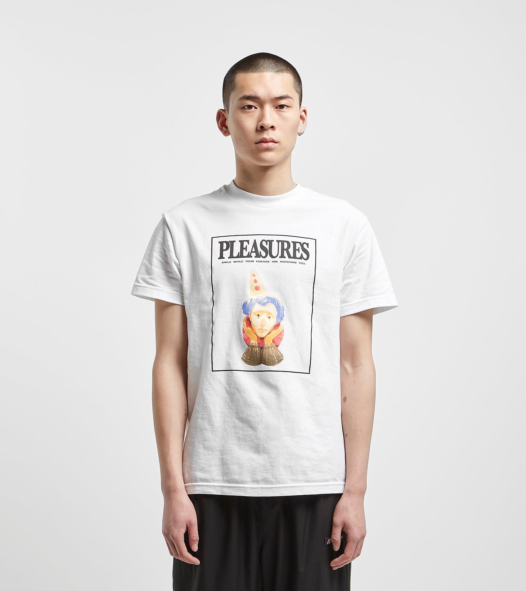 PLEASURES Smile T-Shirt, Wit