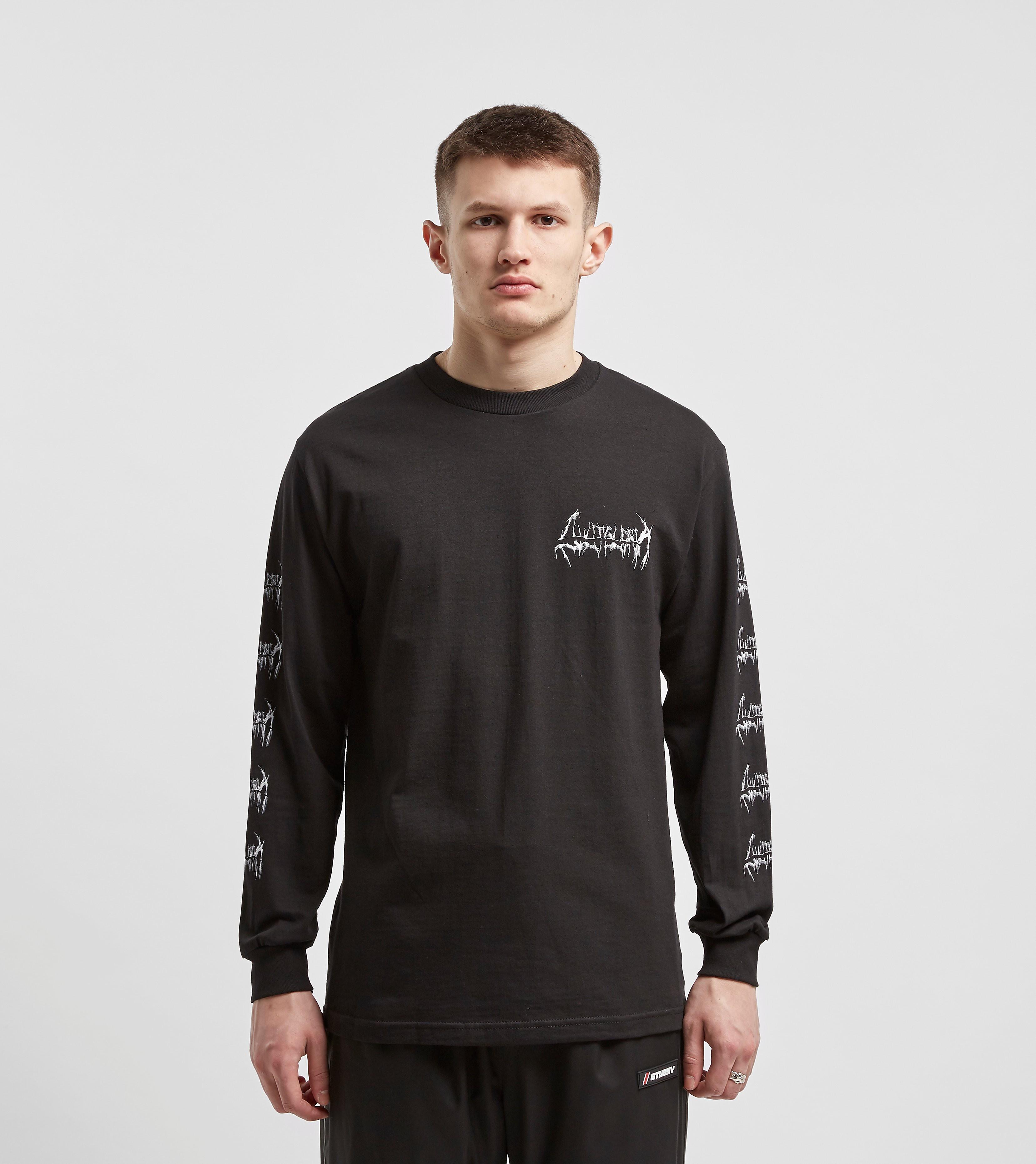 Cult Gloria T-Shirt à Manches Longues Seance, Noir