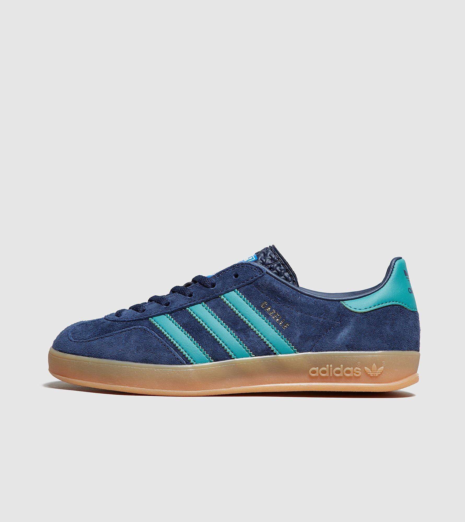 adidas Originals Gazelle Indoor Femme, Bleu