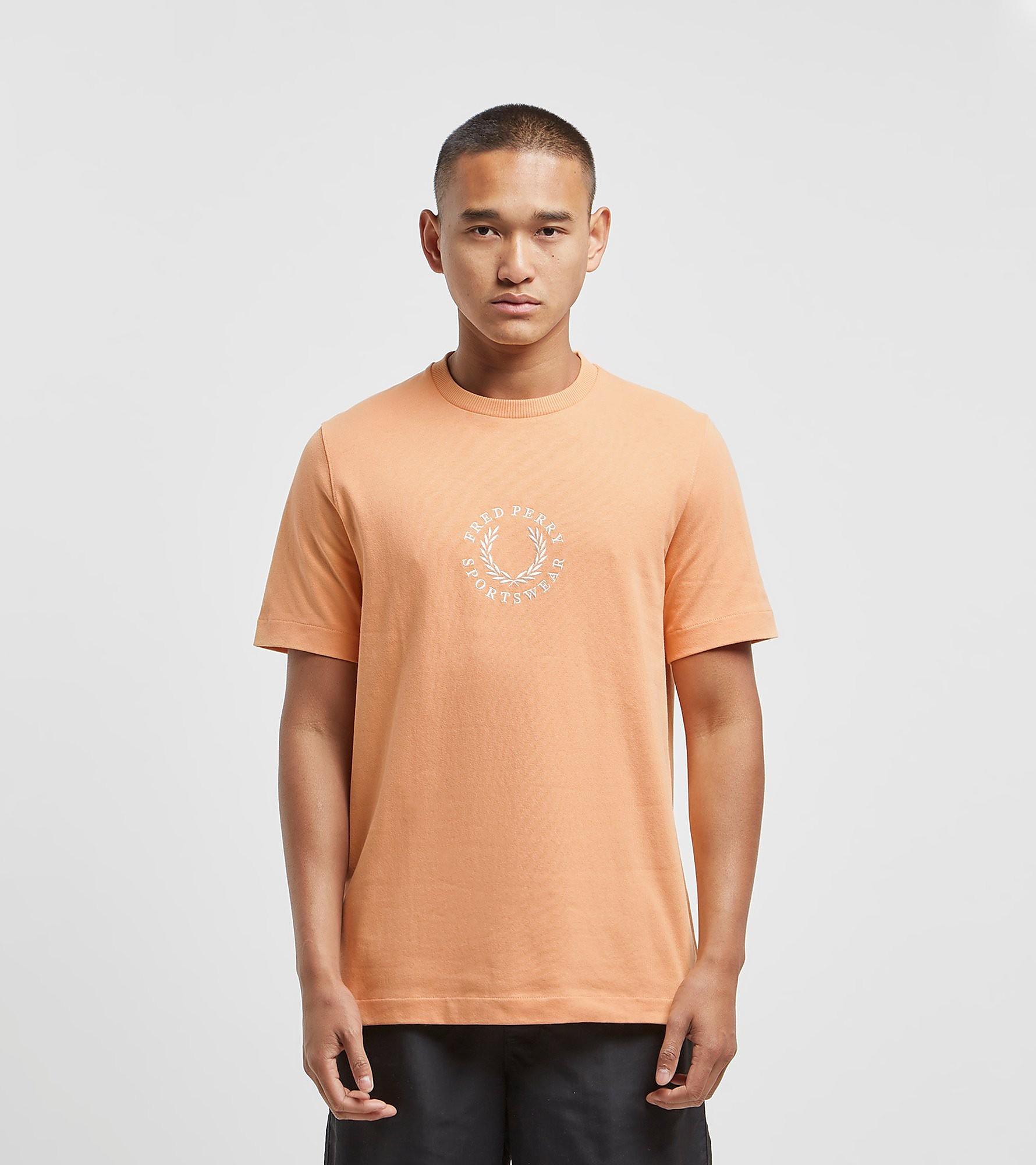 Fred Perry Center Logo Sportwear Orange