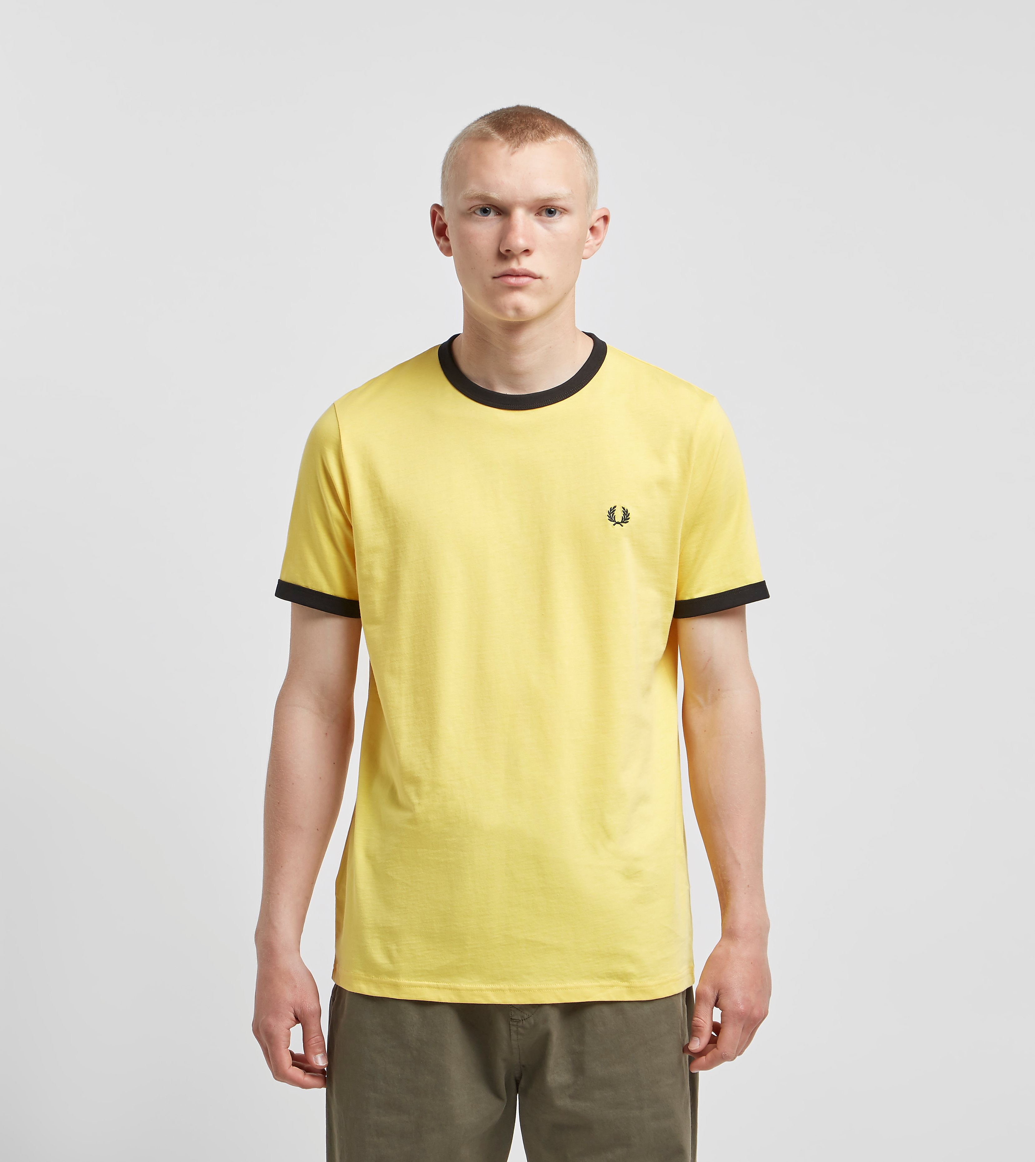 Fred Perry Ringer Yellow
