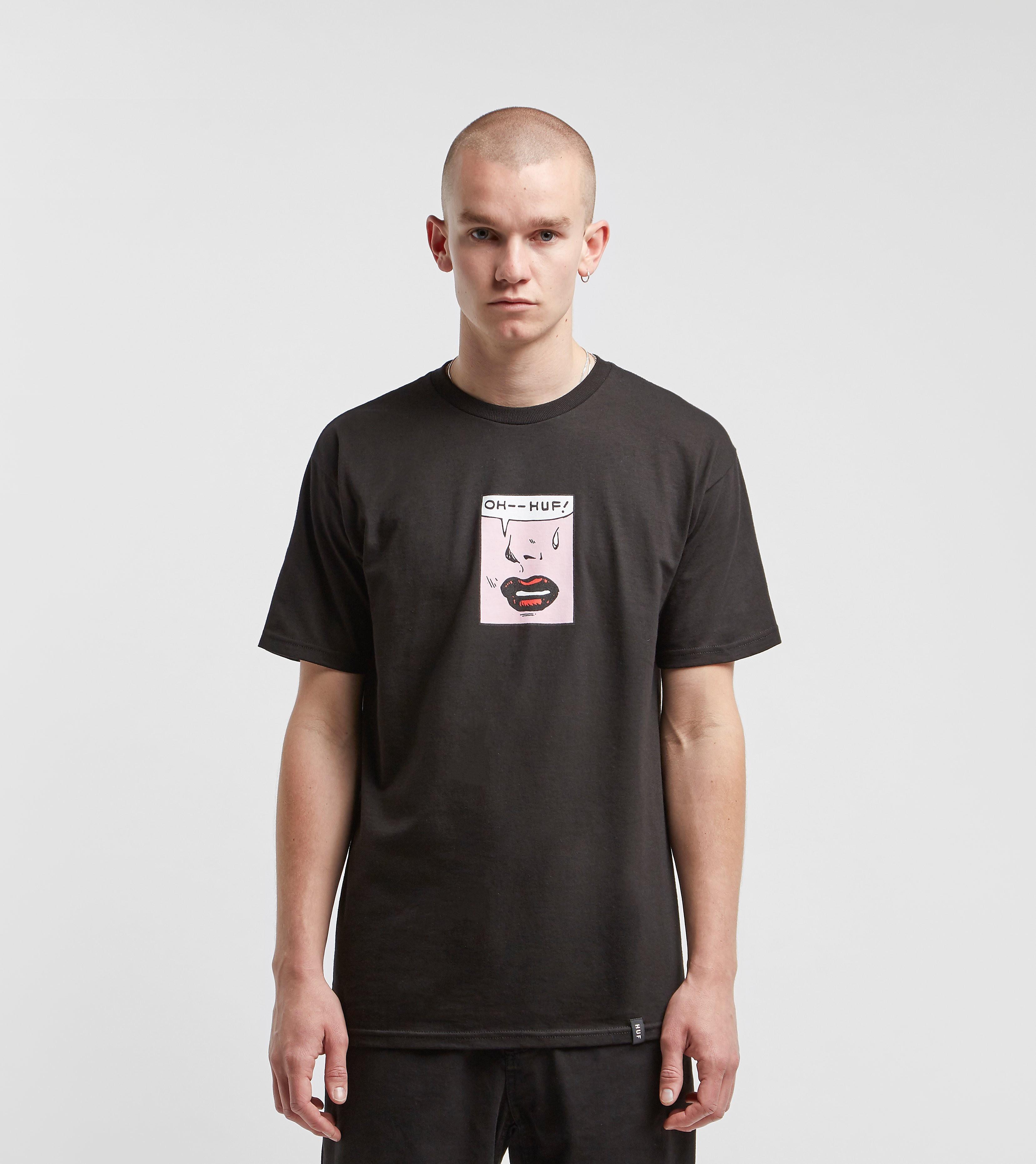 HUF T-Shirt Sigh, Noir