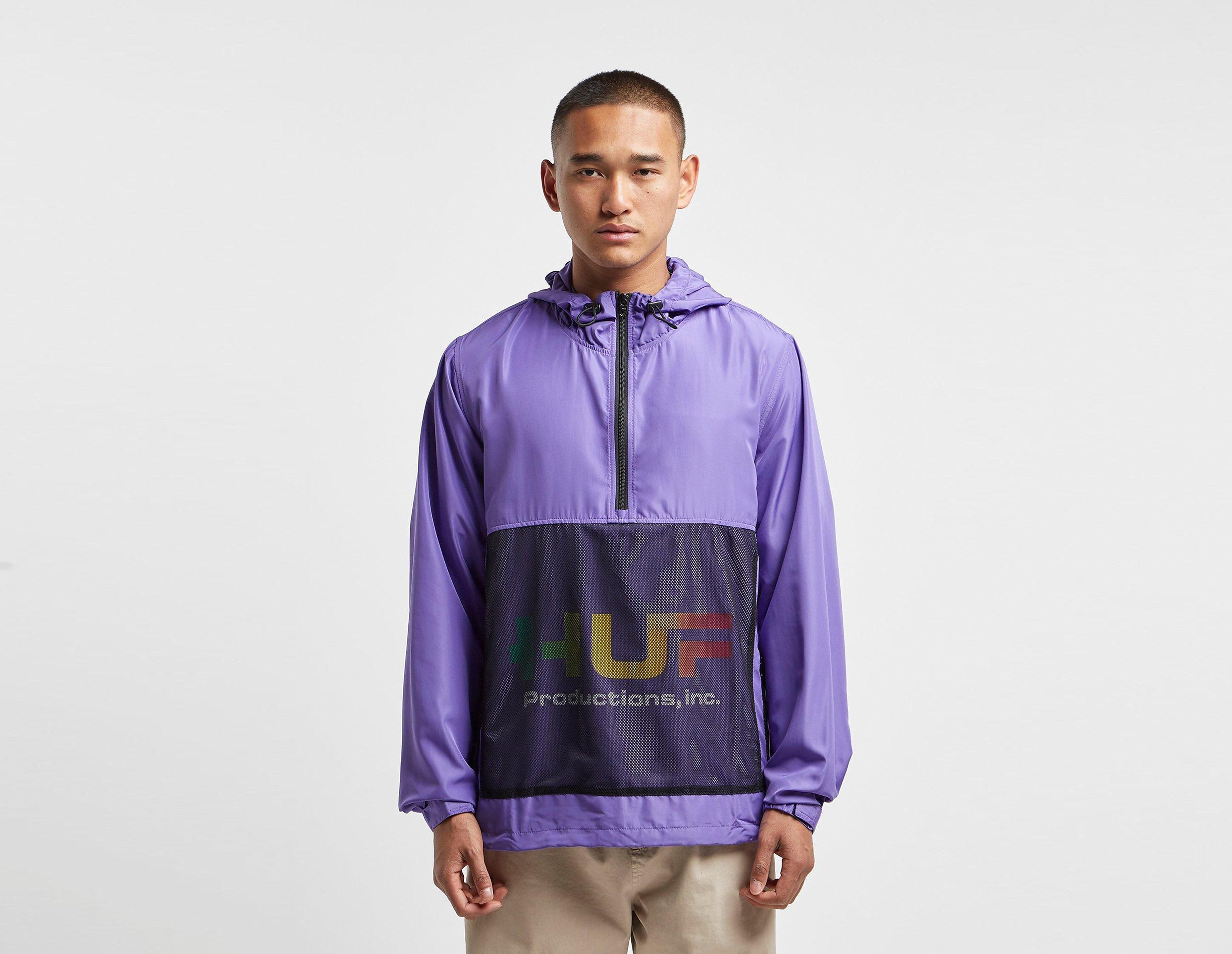 HUF Productions Inc Anorak Jacket, Viola