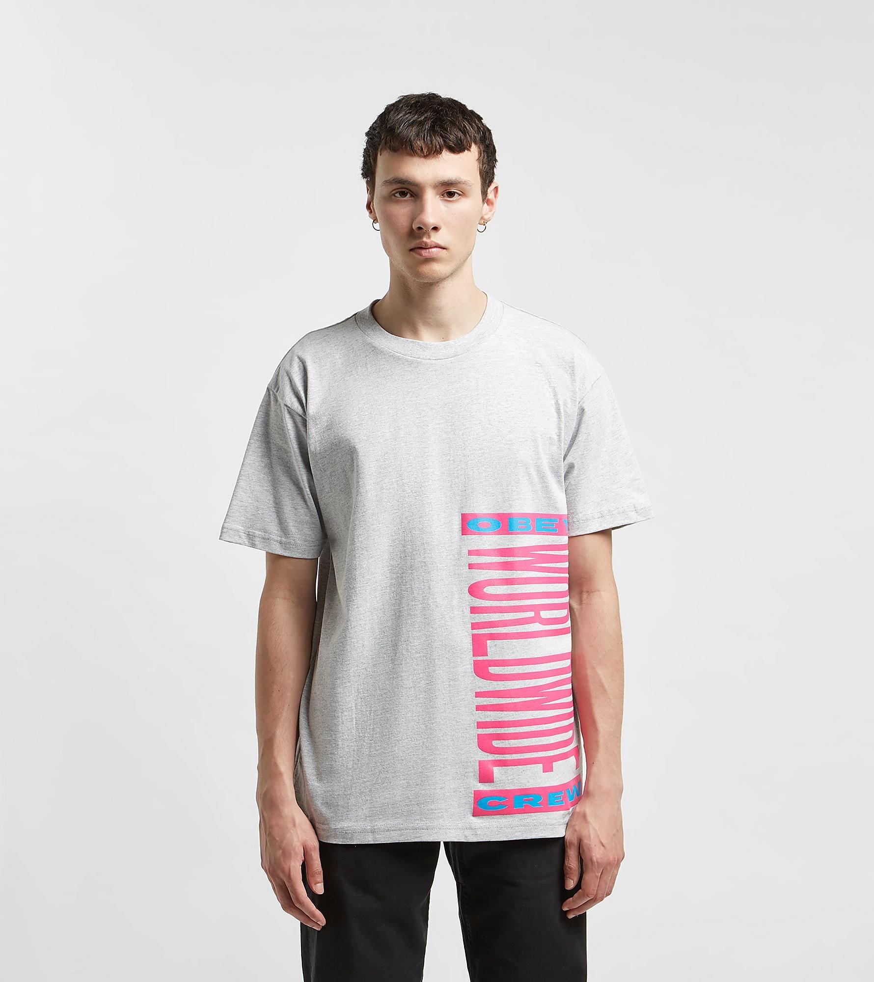 Obey T-Shirt Peace Movement, Gris