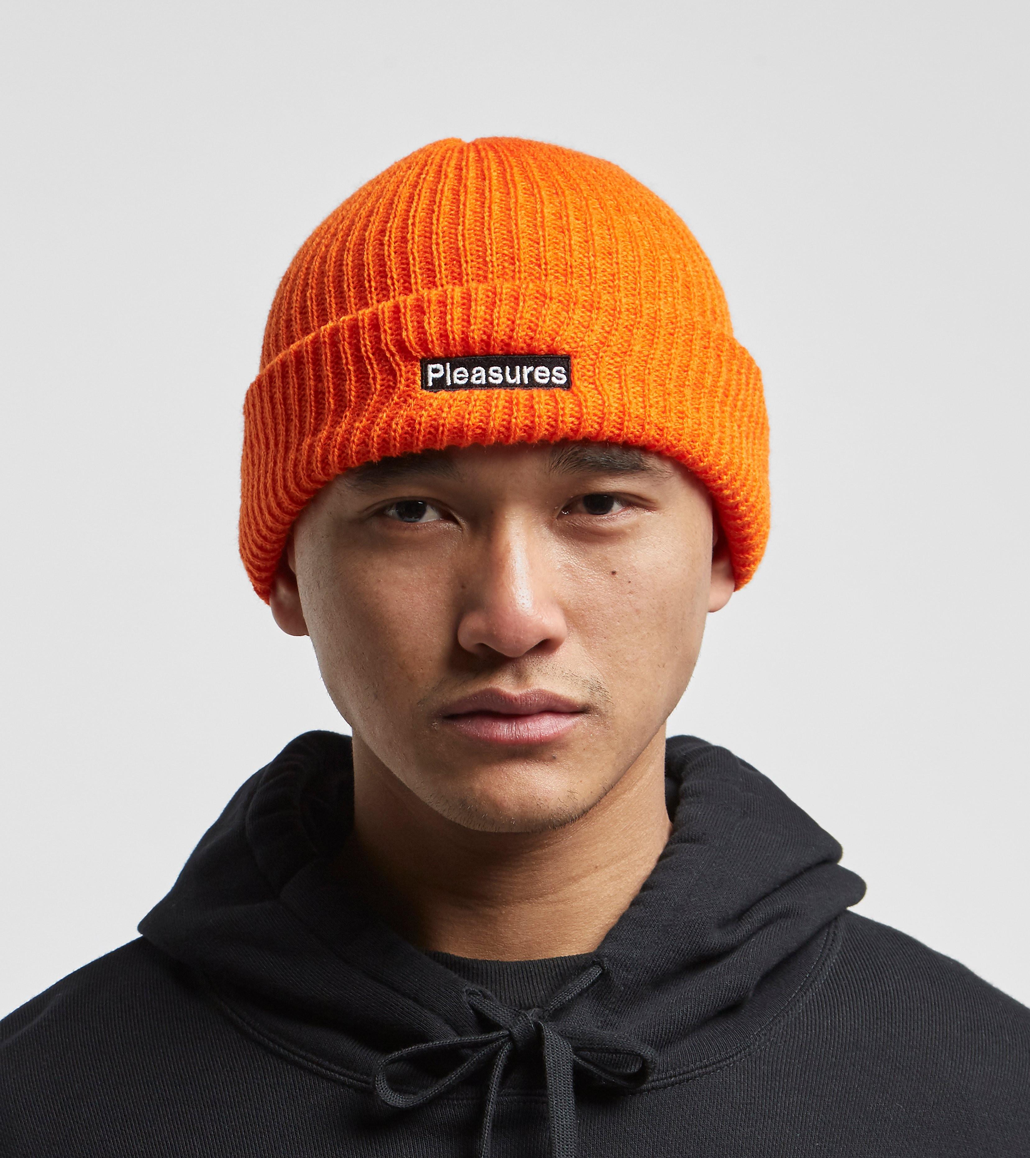PLEASURES Bonnet Biohazard, Orange