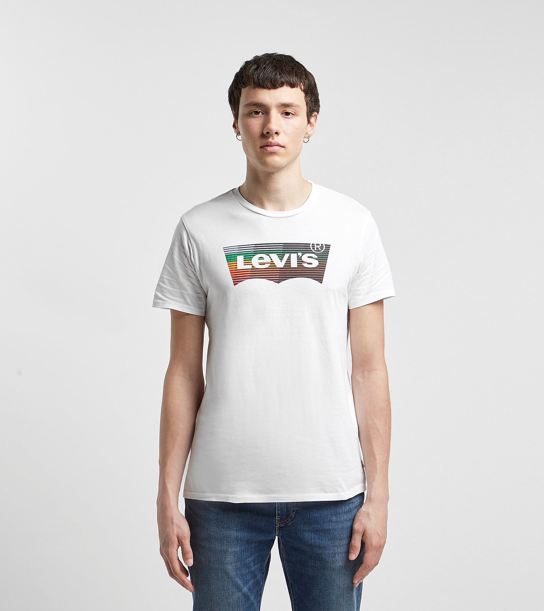 Levis Housemark Graphic White