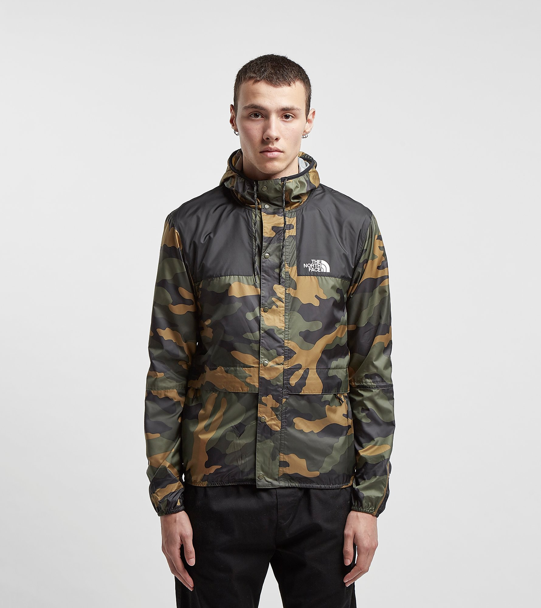 The North Face 1985 Seasonal Packable Mountain Jacket, Verde