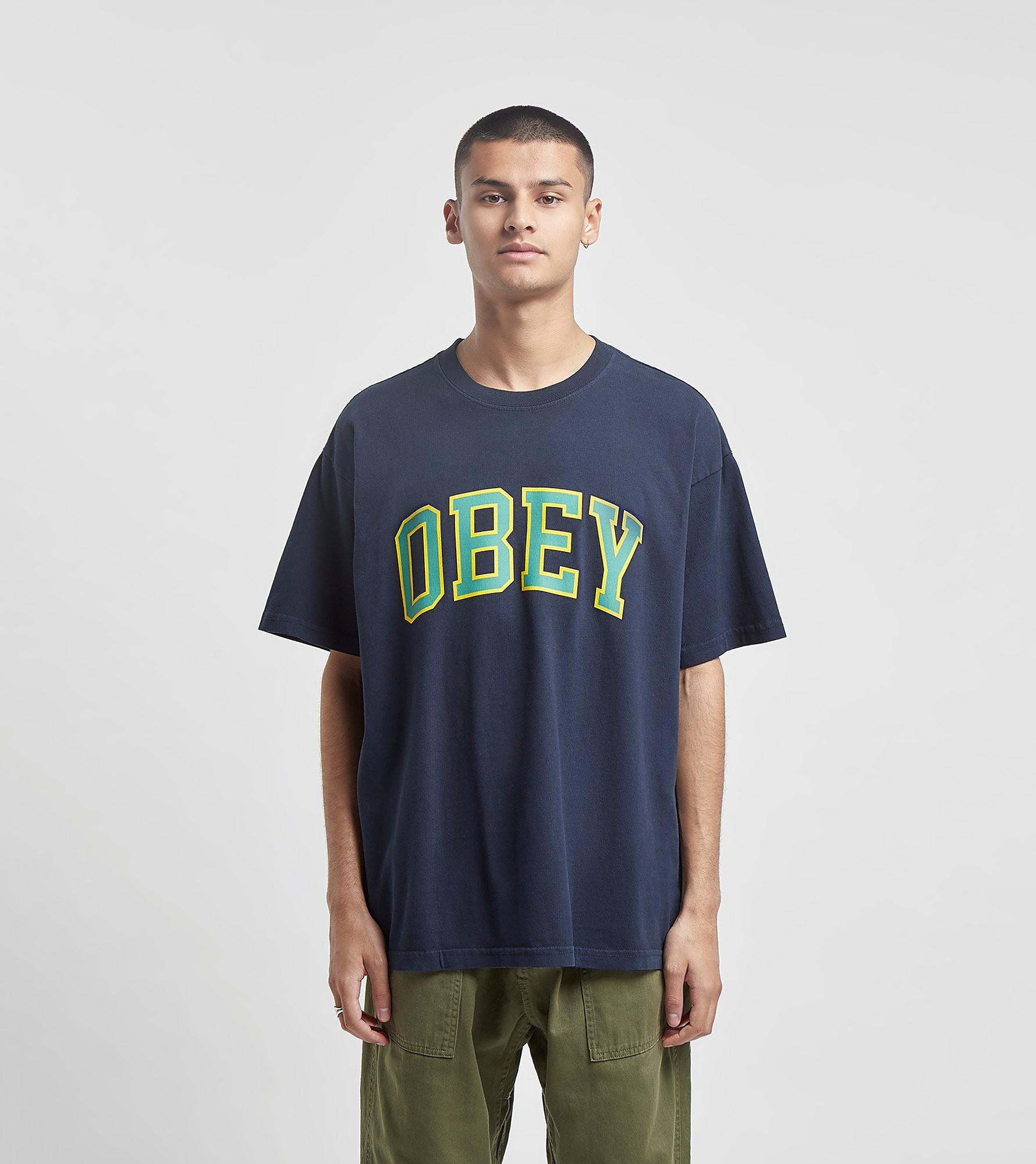Obey T-Shirt Academy, Bleu