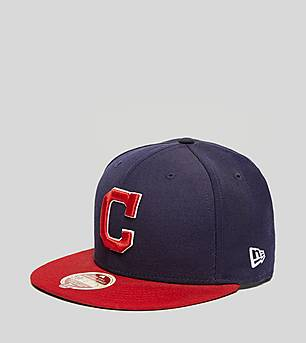 New Era Heritage Series Indians 59FIFTY Fitted Cap