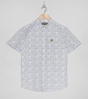 Lyle & Scott Etch Print Dobby Shirt