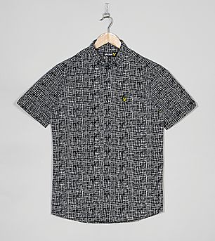 Lyle & Scott Etch Print Dobby Shirt