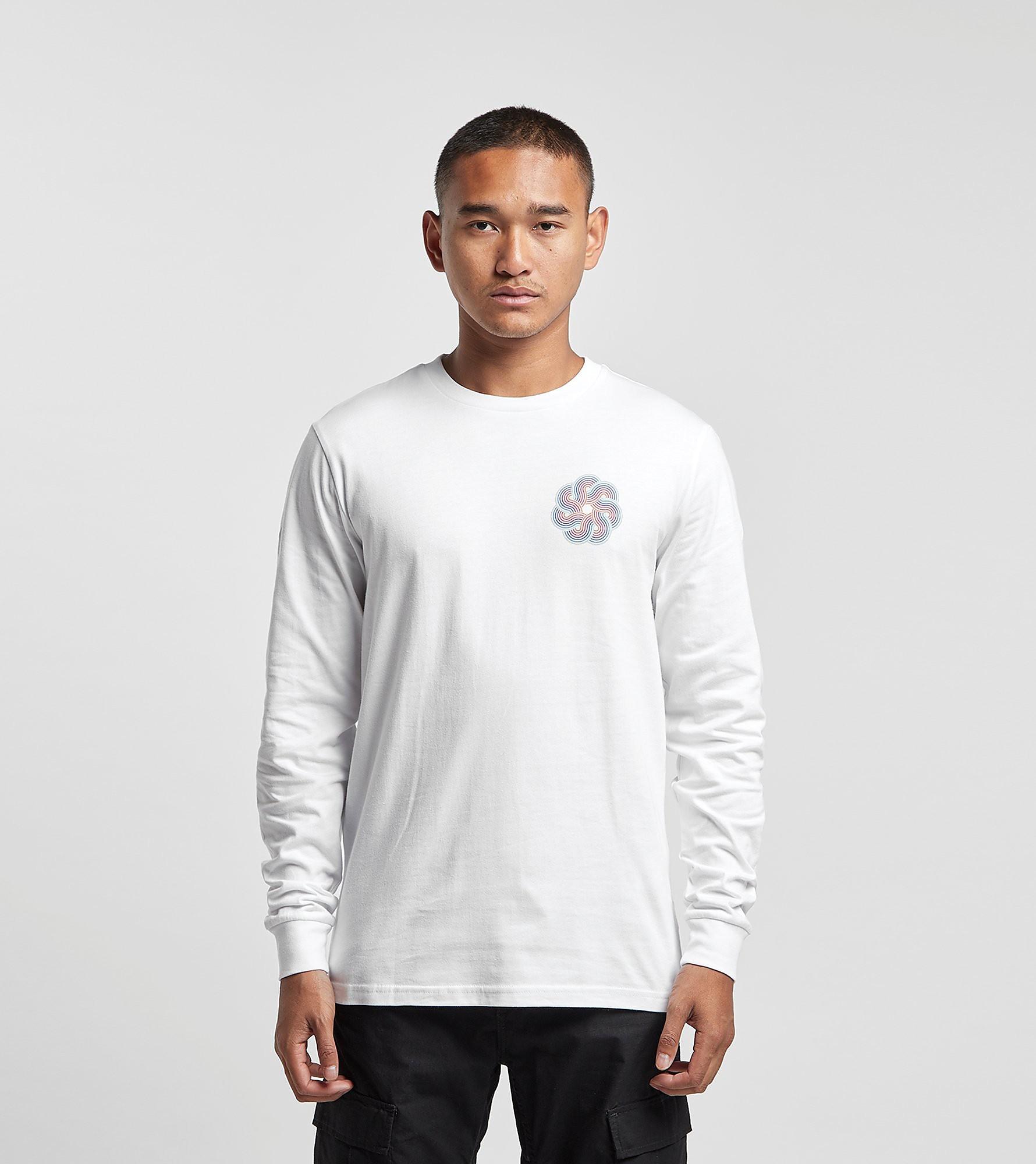 PIILGRIM T-Shirt à Manches Longues, Blanc