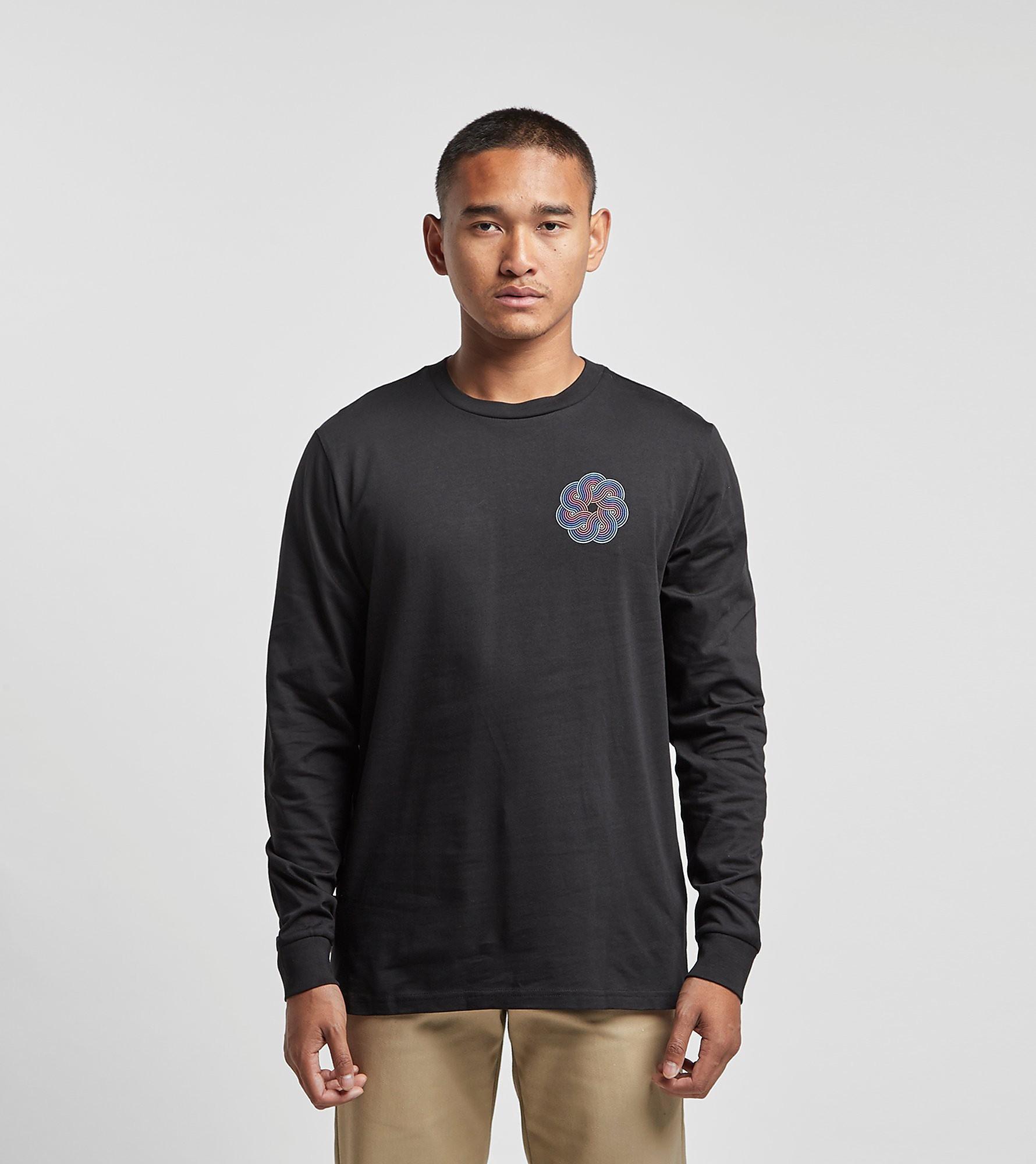 PIILGRIM T-Shirt à Manches Longues, Noir