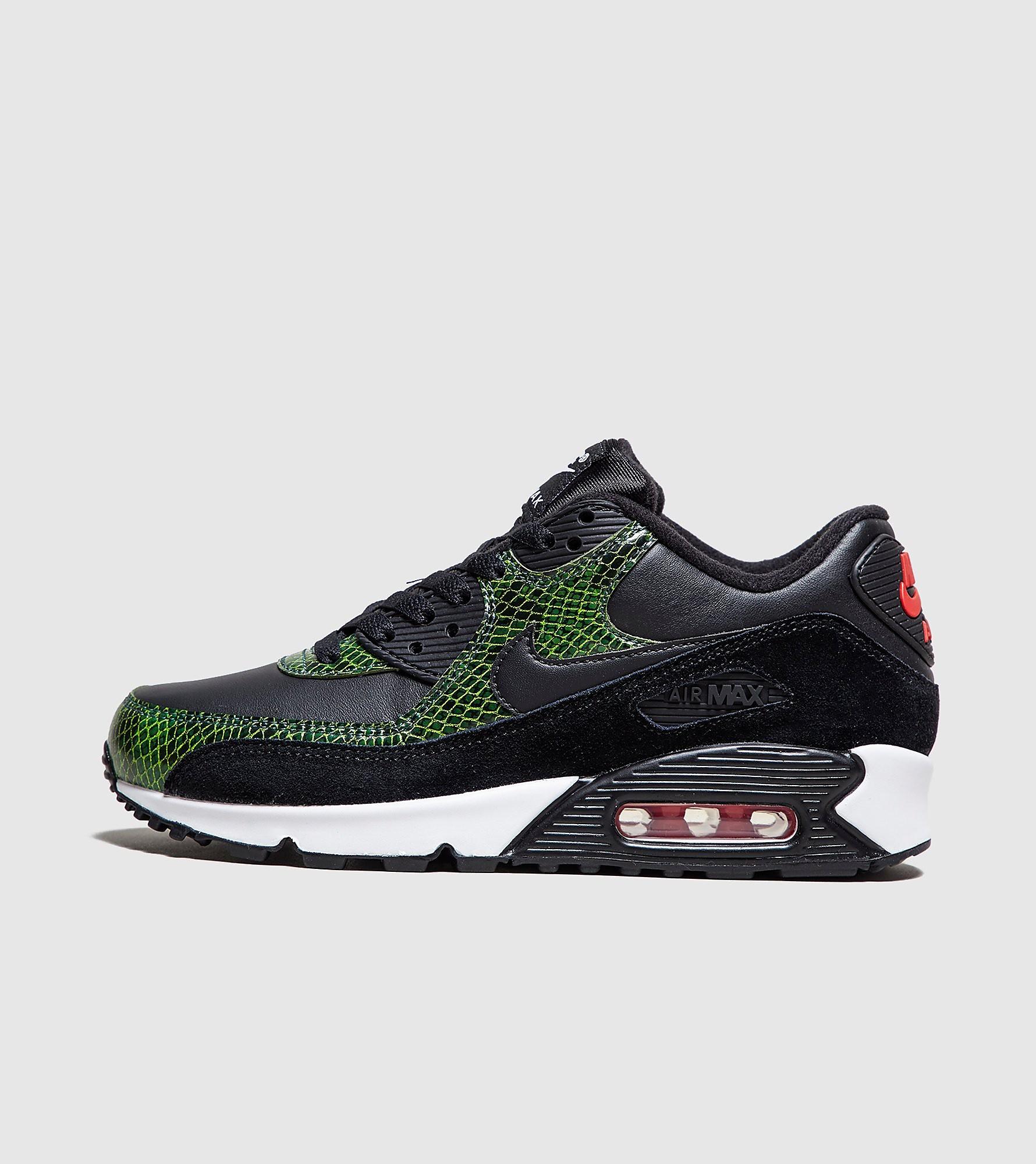 Nike Air Max 90 QS 'Python' de mujer, Negro
