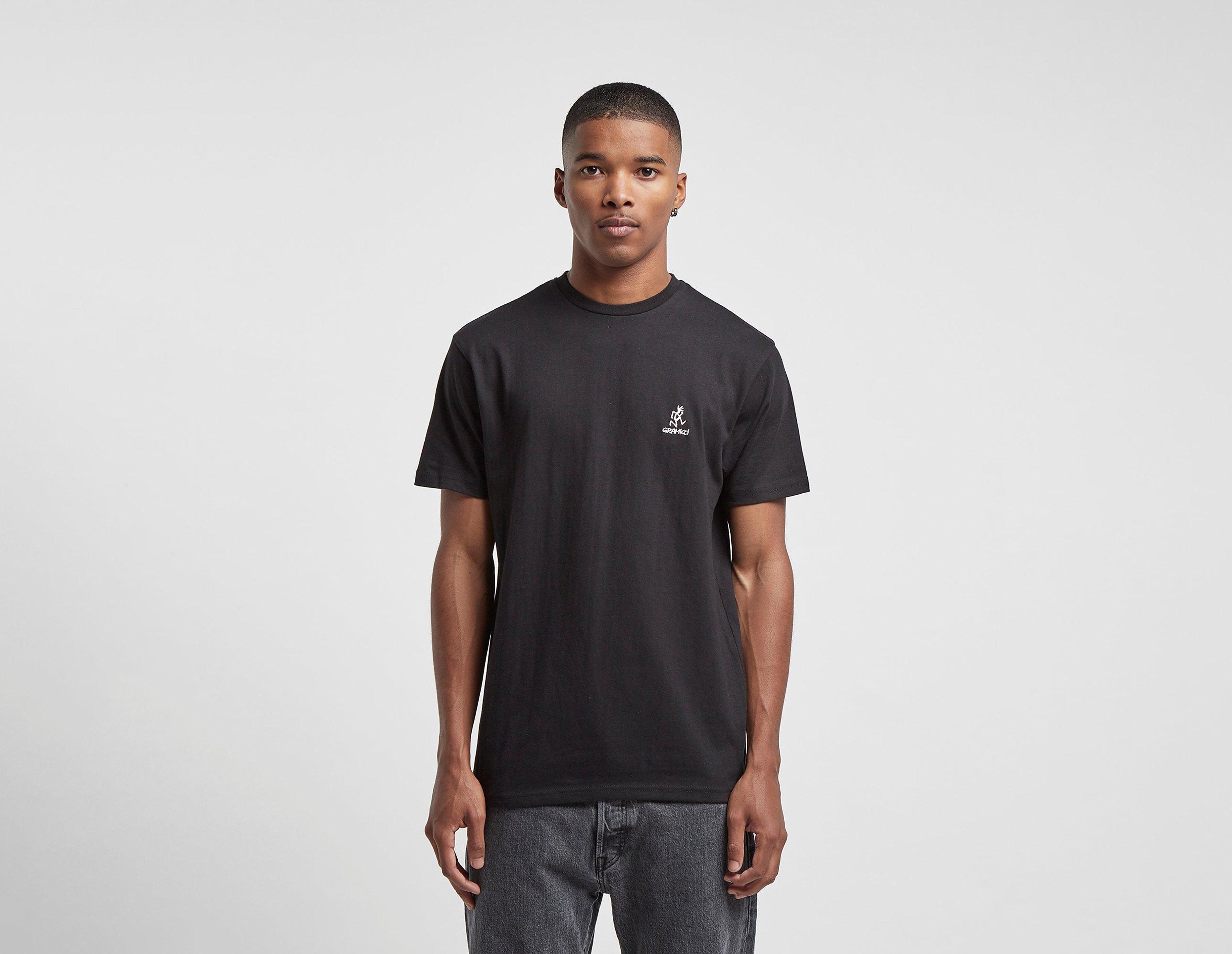 Gramicci T-Shirt Big Running Man, Noir