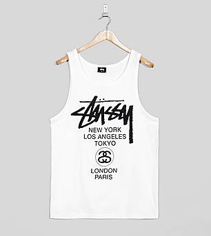 Stussy World Tour Vest