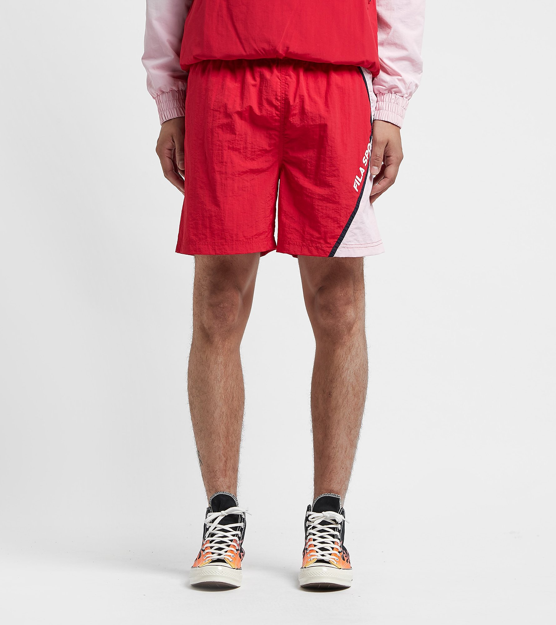 Fila Young Shorts, Rosso