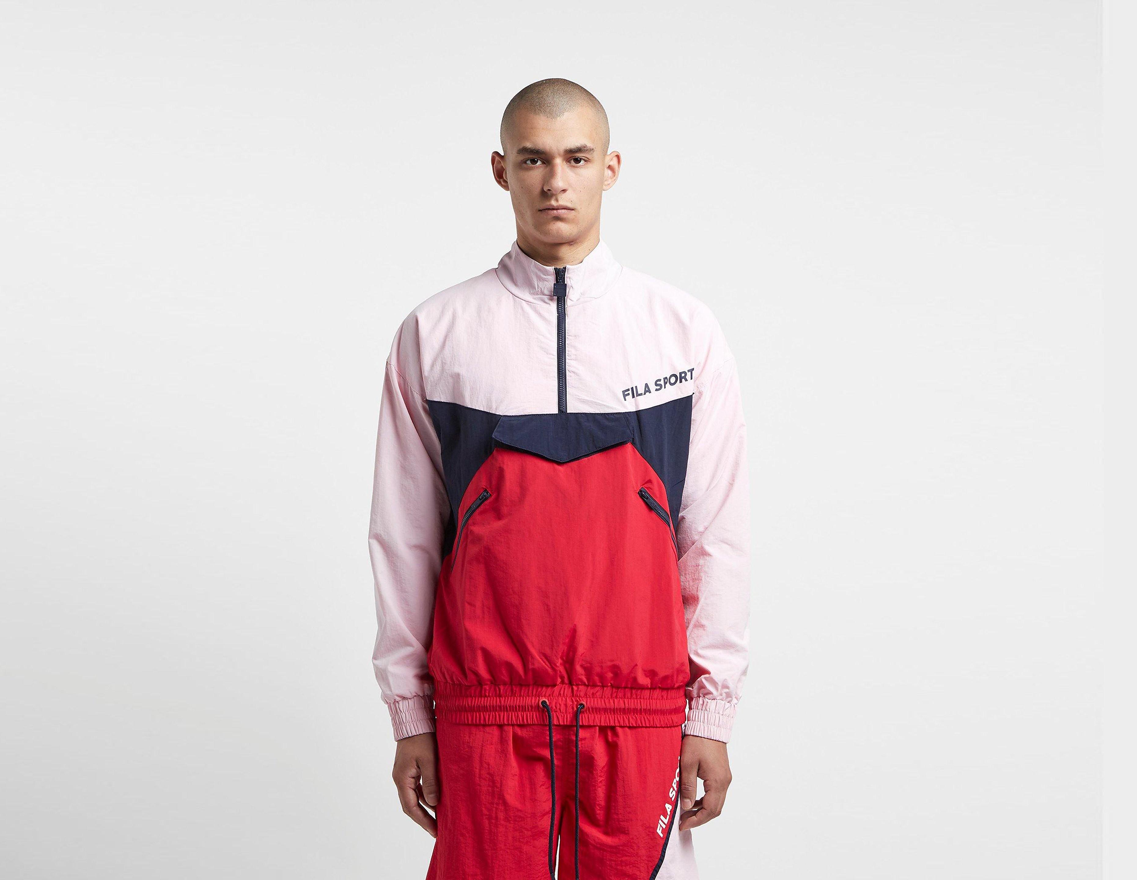 Fila Laser Half Zip Jacket, Rosso