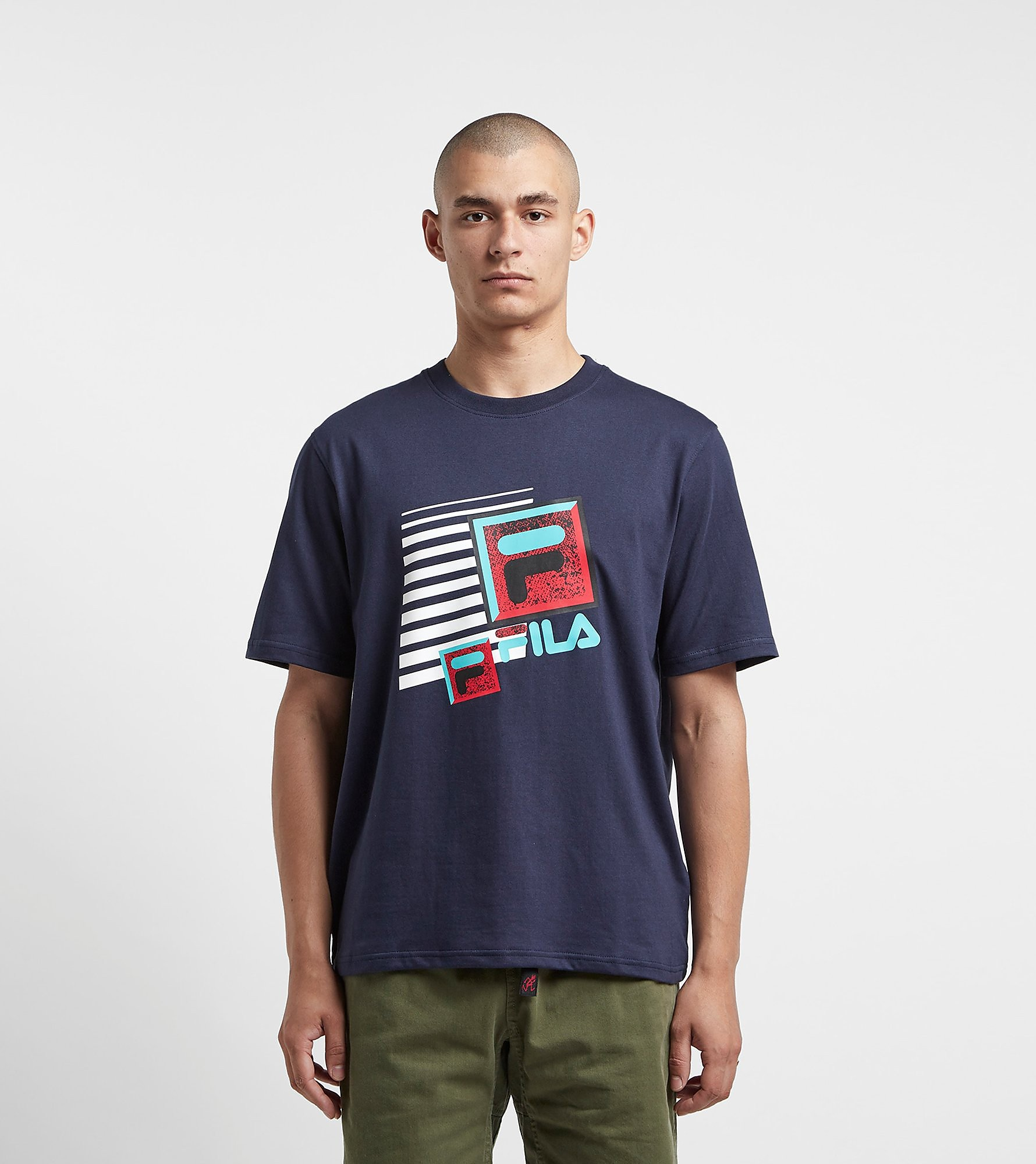 Fila Ace T-Shirt Navy